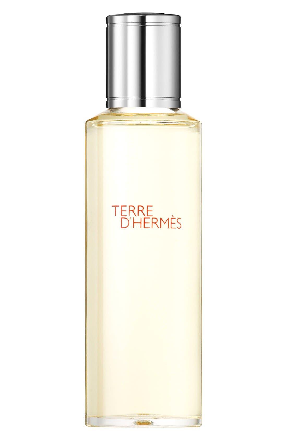 Terre d'Hermès - Eau de toilette Bel Objet refill bottle,                             Main thumbnail 1, color,