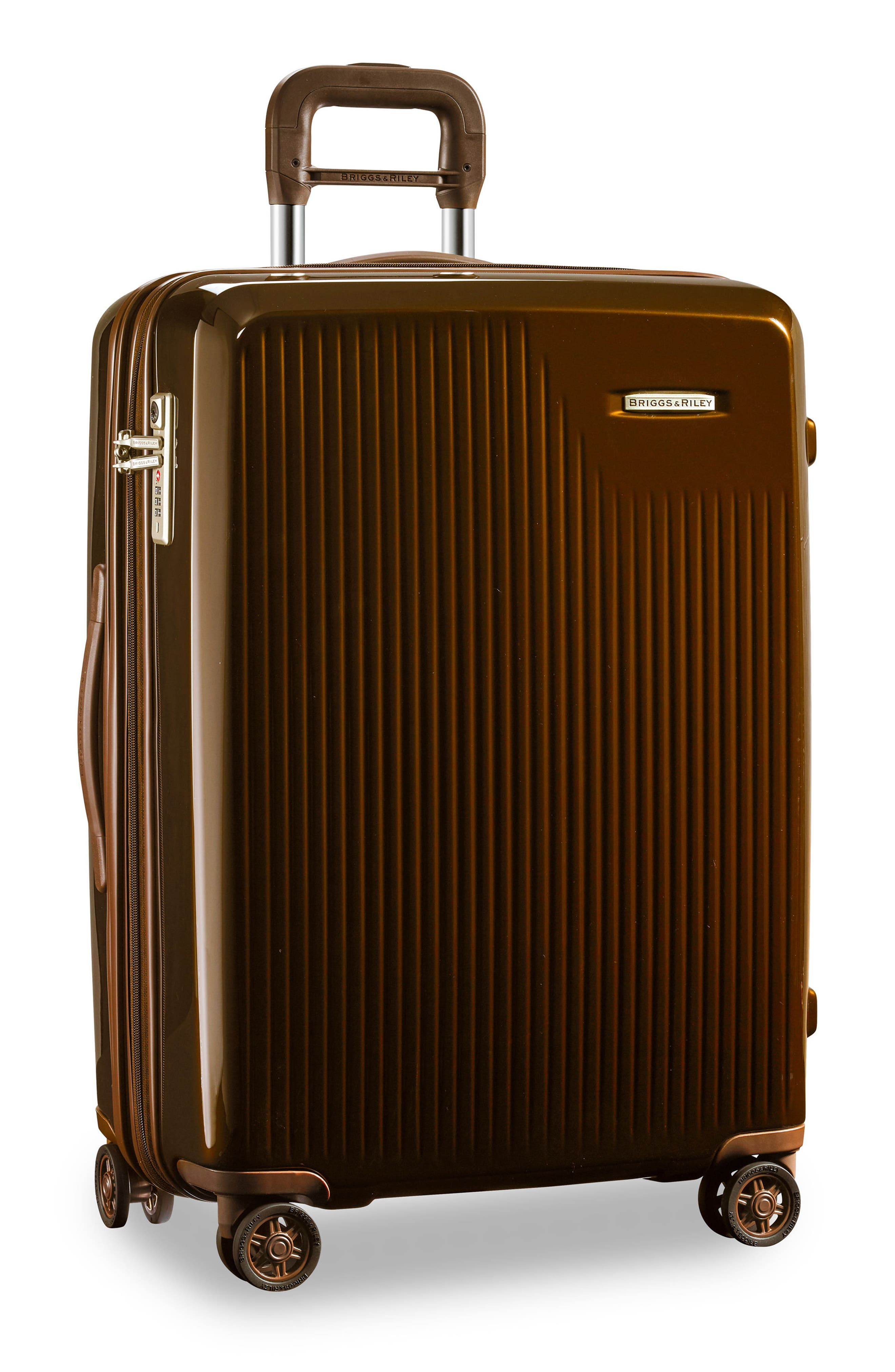 Sympatico 27-Inch Expandable Wheeled Packing Case,                             Alternate thumbnail 8, color,                             BRONZE