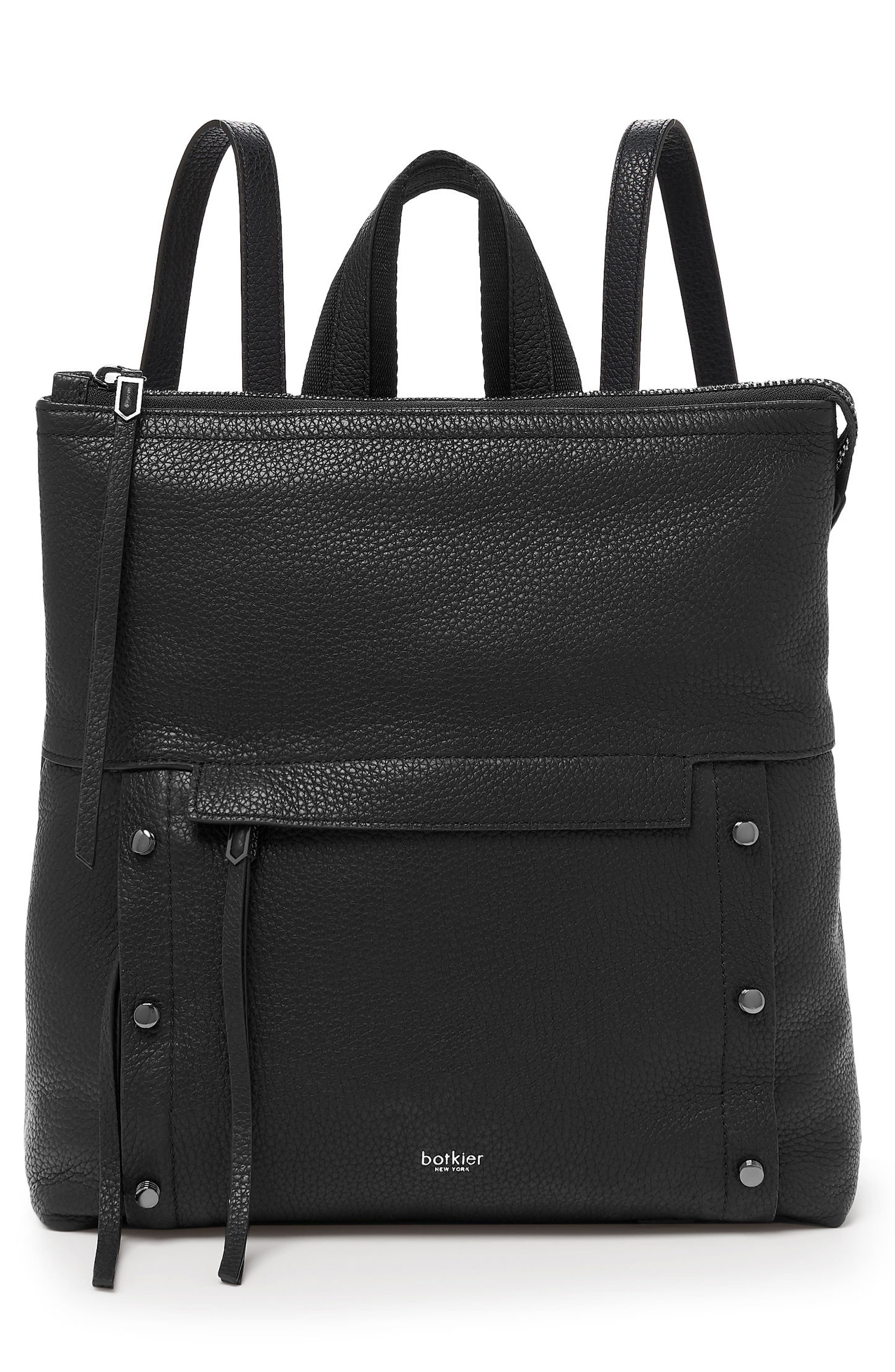 Noho Leather Backpack,                         Main,                         color, 002