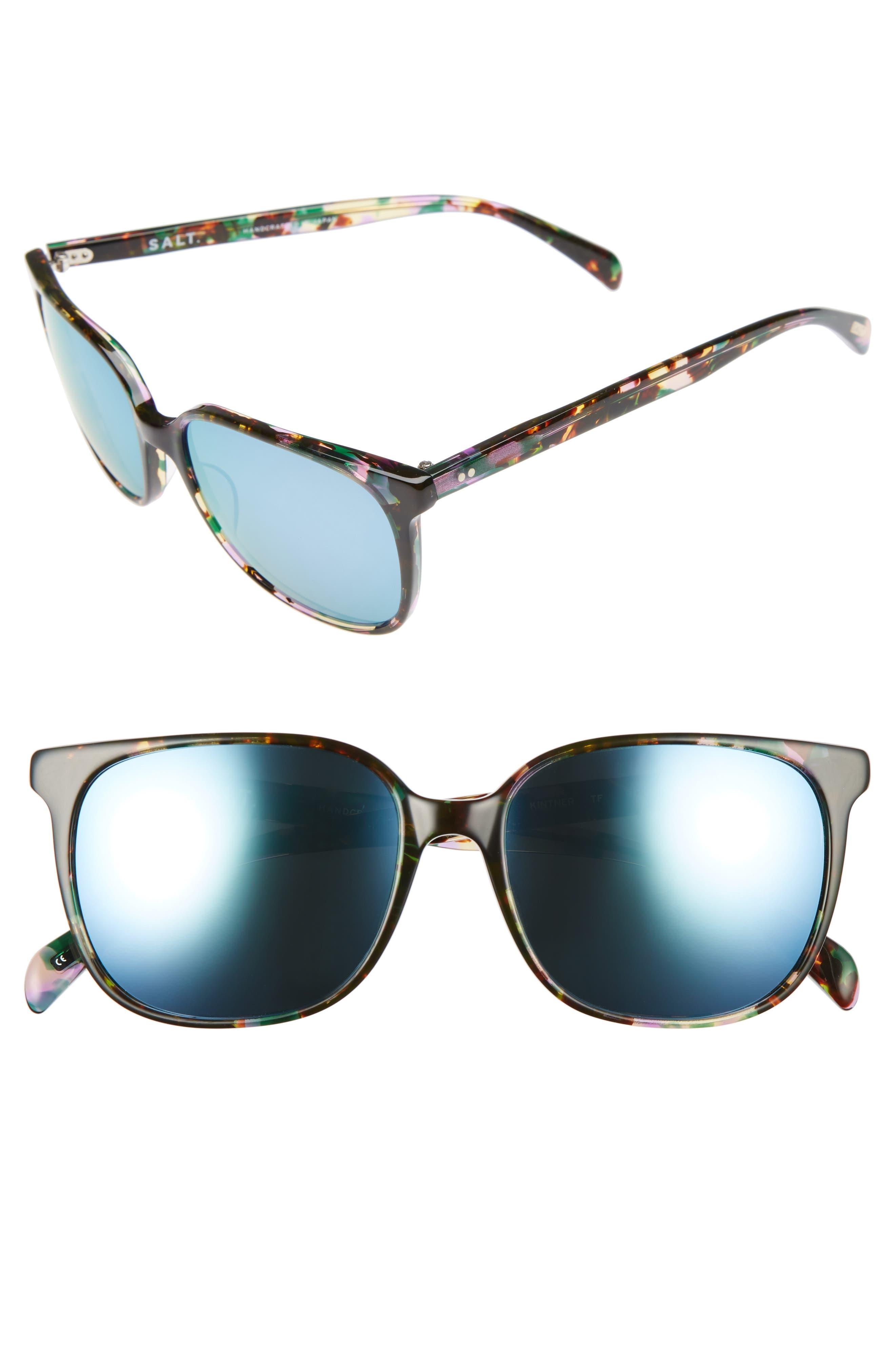 Kintner 55mm Polarized Cat Eye Sunglasses,                             Main thumbnail 2, color,