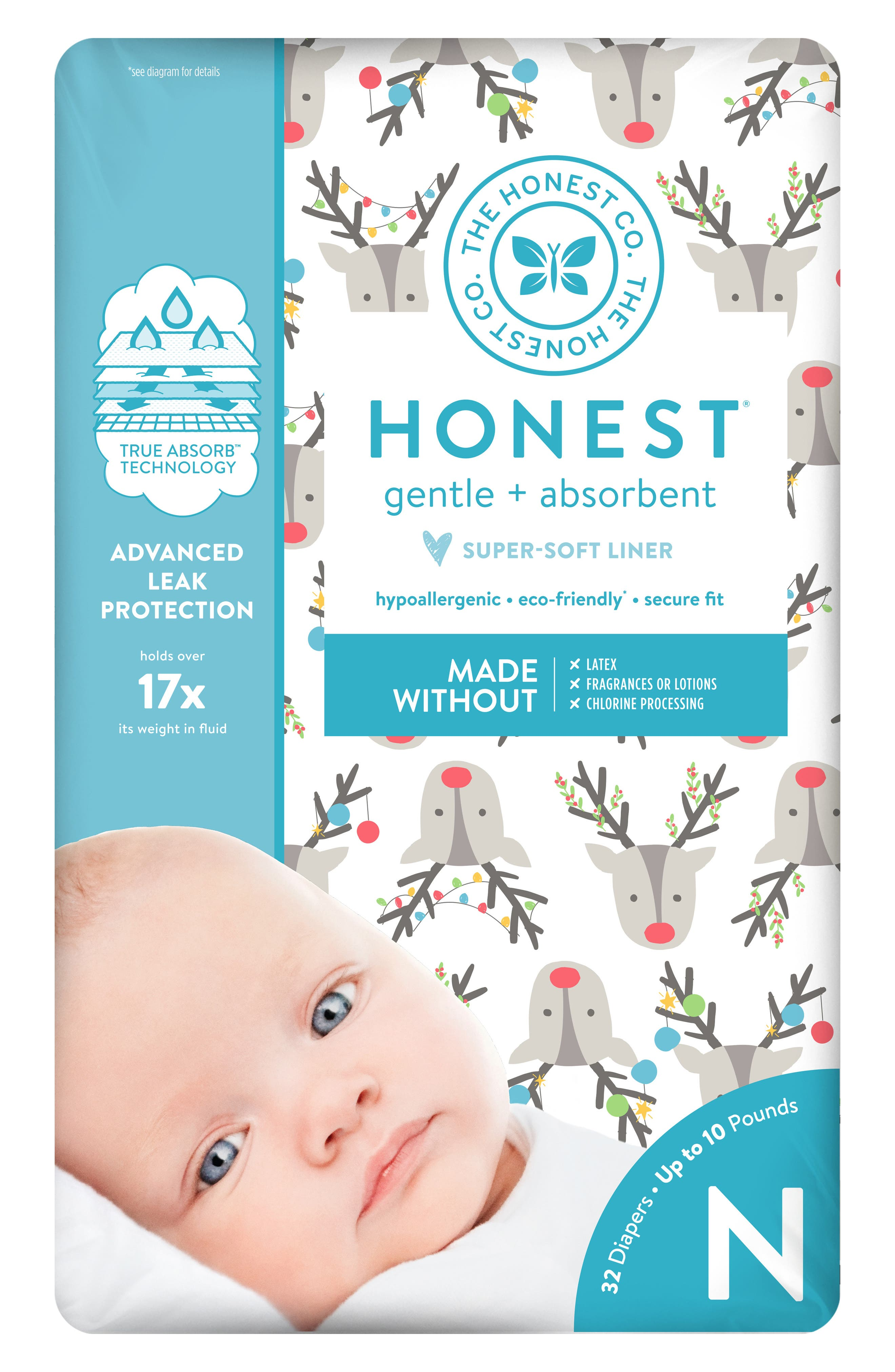 Hey Rudolph Diapers,                         Main,                         color, HEY RUDOLPH