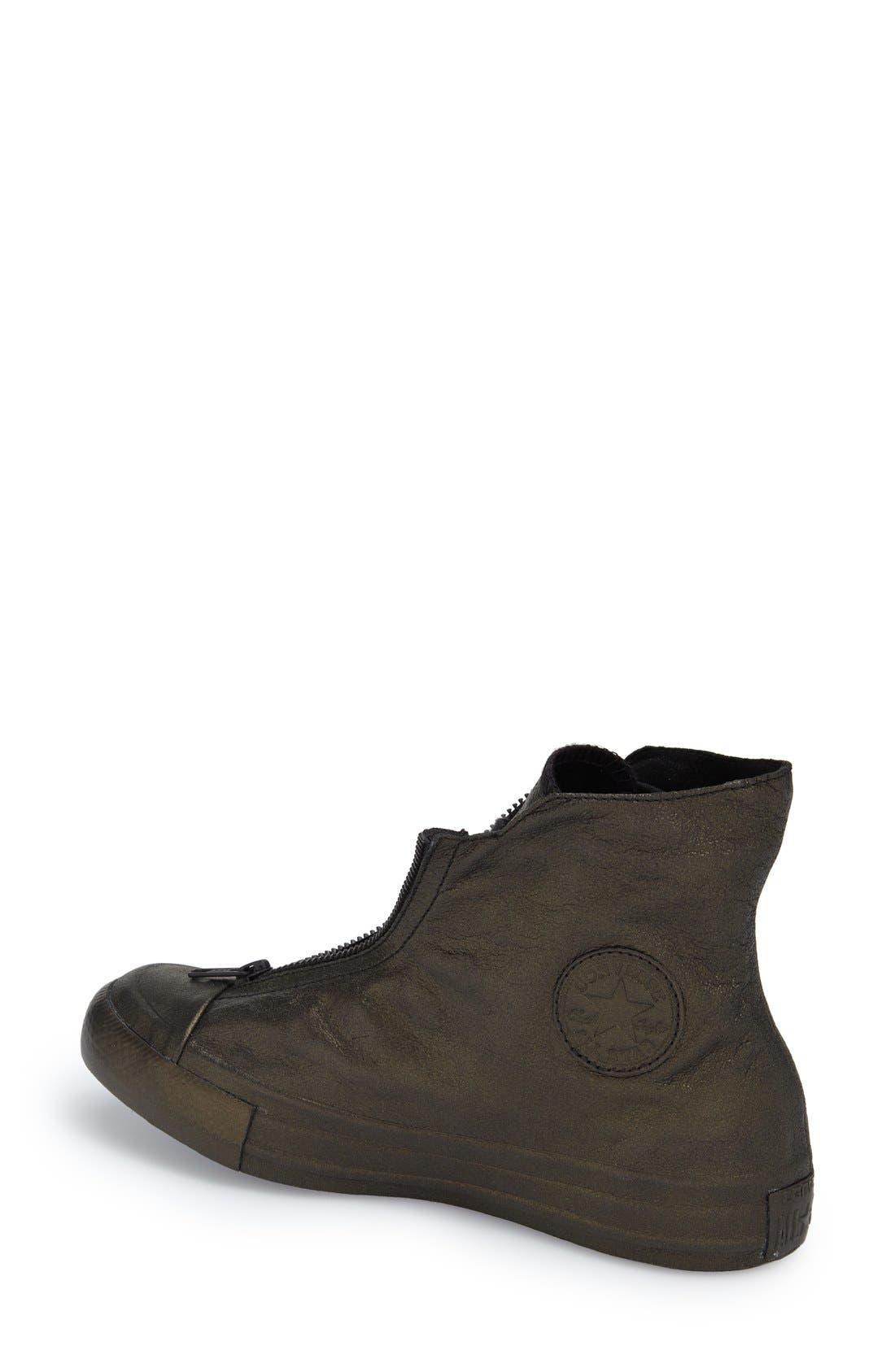 CONVERSE,                             Chuck Taylor<sup>®</sup> All Star<sup>®</sup> 'Shroud' Metallic High Top Sneaker,                             Alternate thumbnail 2, color,                             017