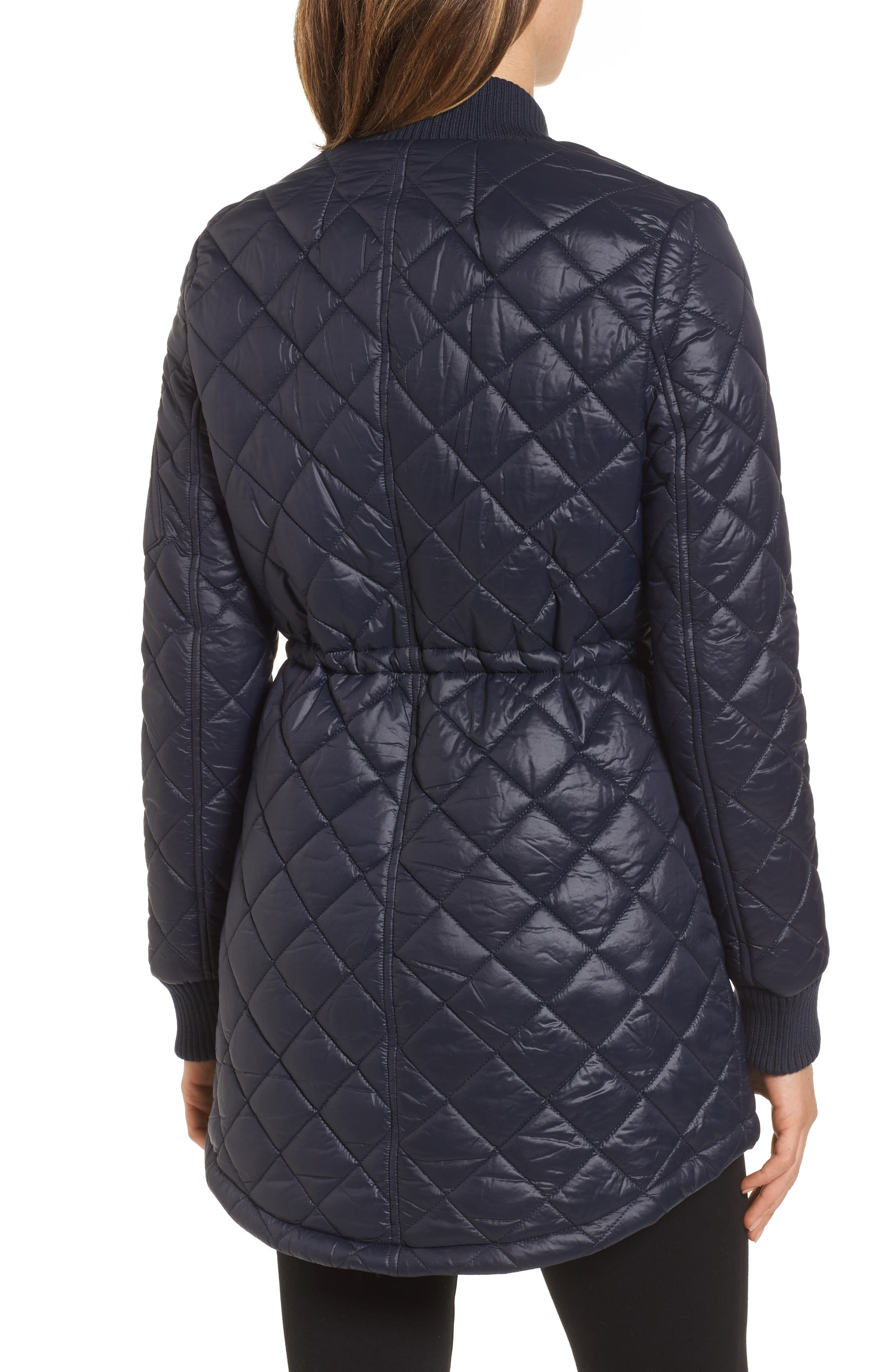 Quilted Anorak Jacket,                             Alternate thumbnail 6, color,