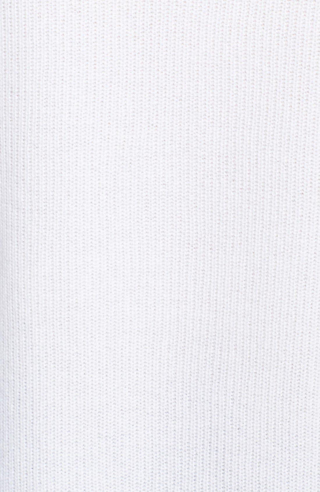 'Talia' V-Neck Cashmere Sweater,                             Alternate thumbnail 3, color,                             180