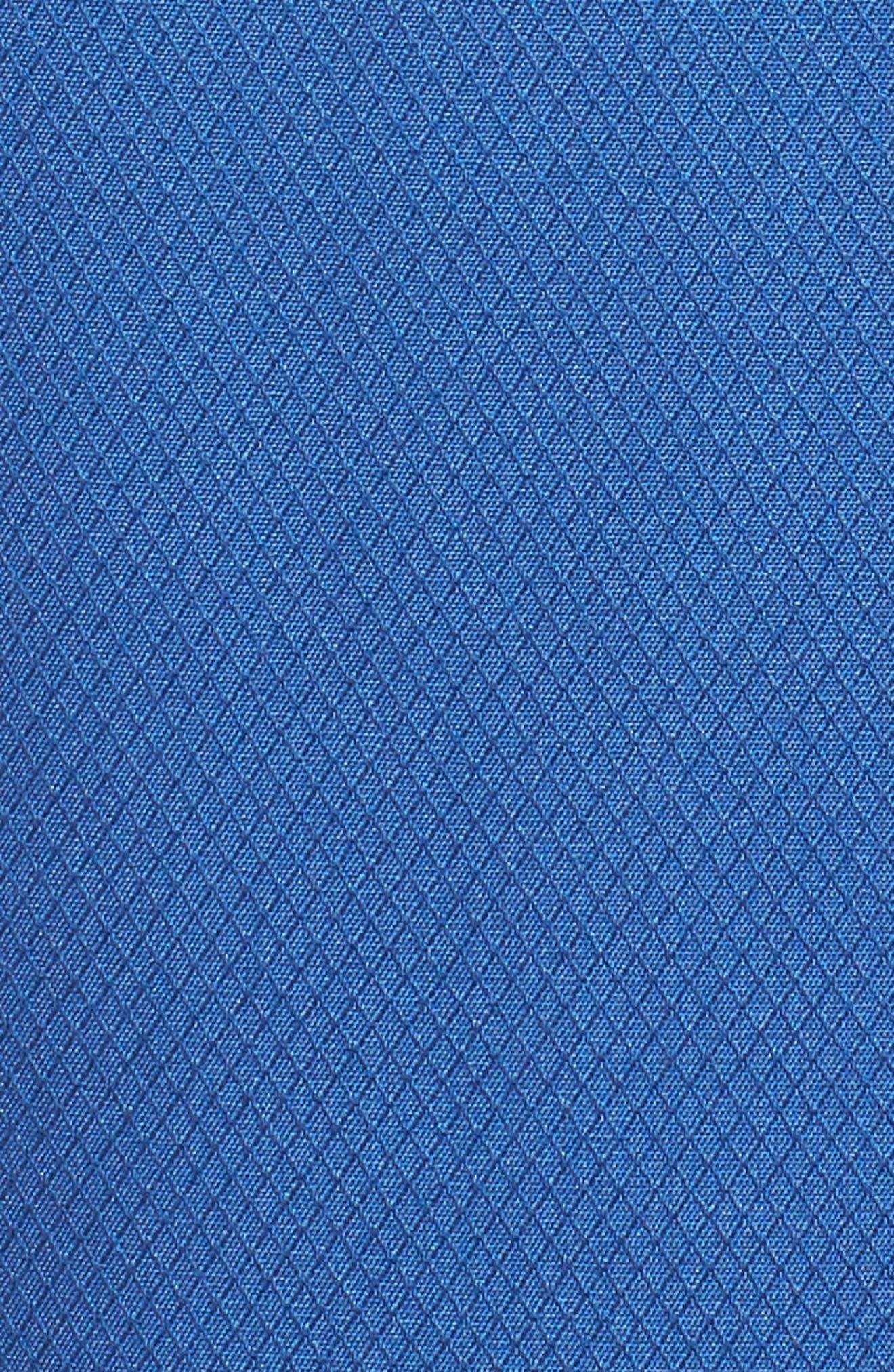 'Honeycomb' Regular Fit Short Sleeve Textured Sport Shirt,                             Alternate thumbnail 9, color,