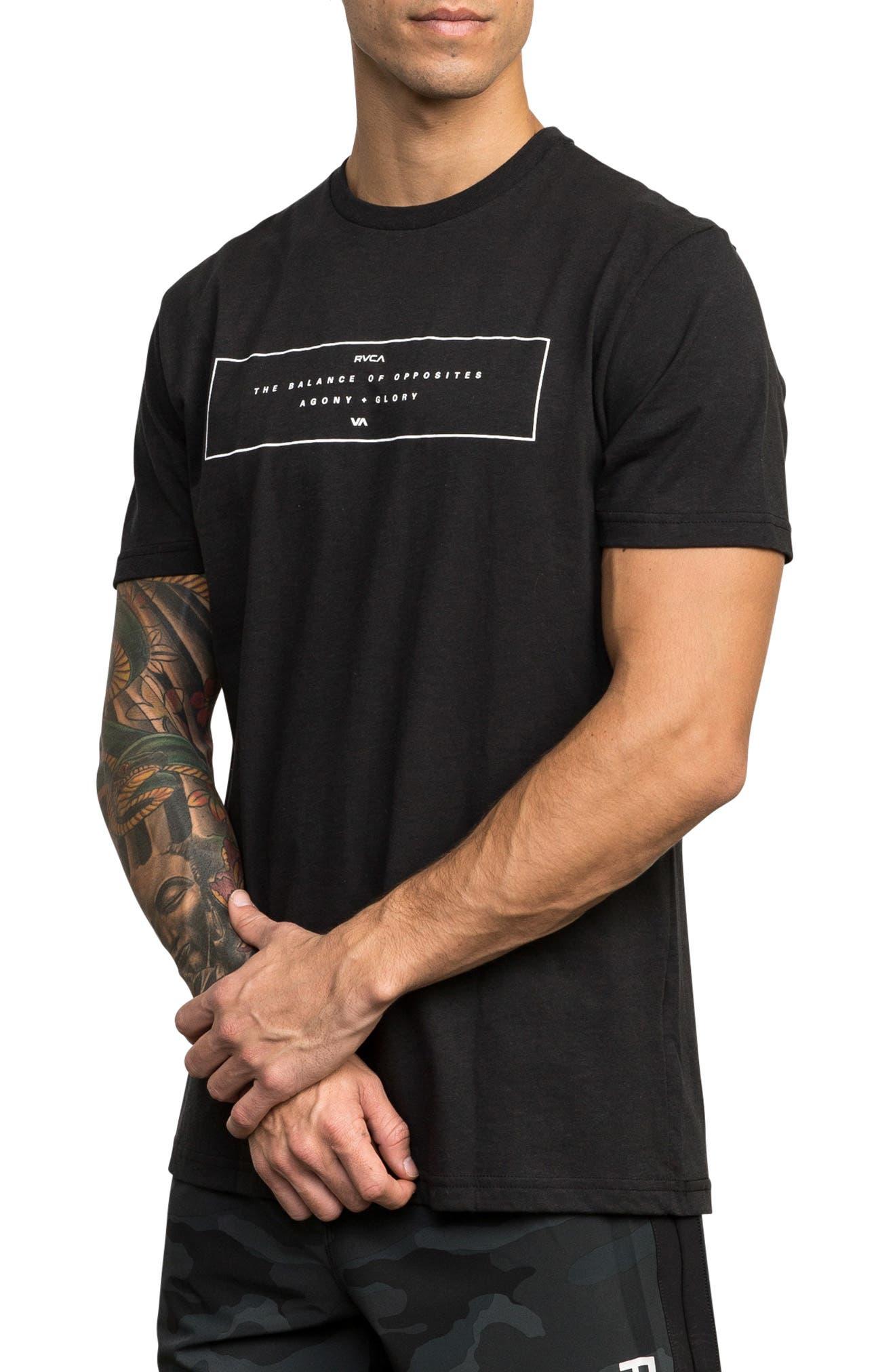 Sports Bar Graphic T-Shirt,                             Alternate thumbnail 3, color,                             BLACK