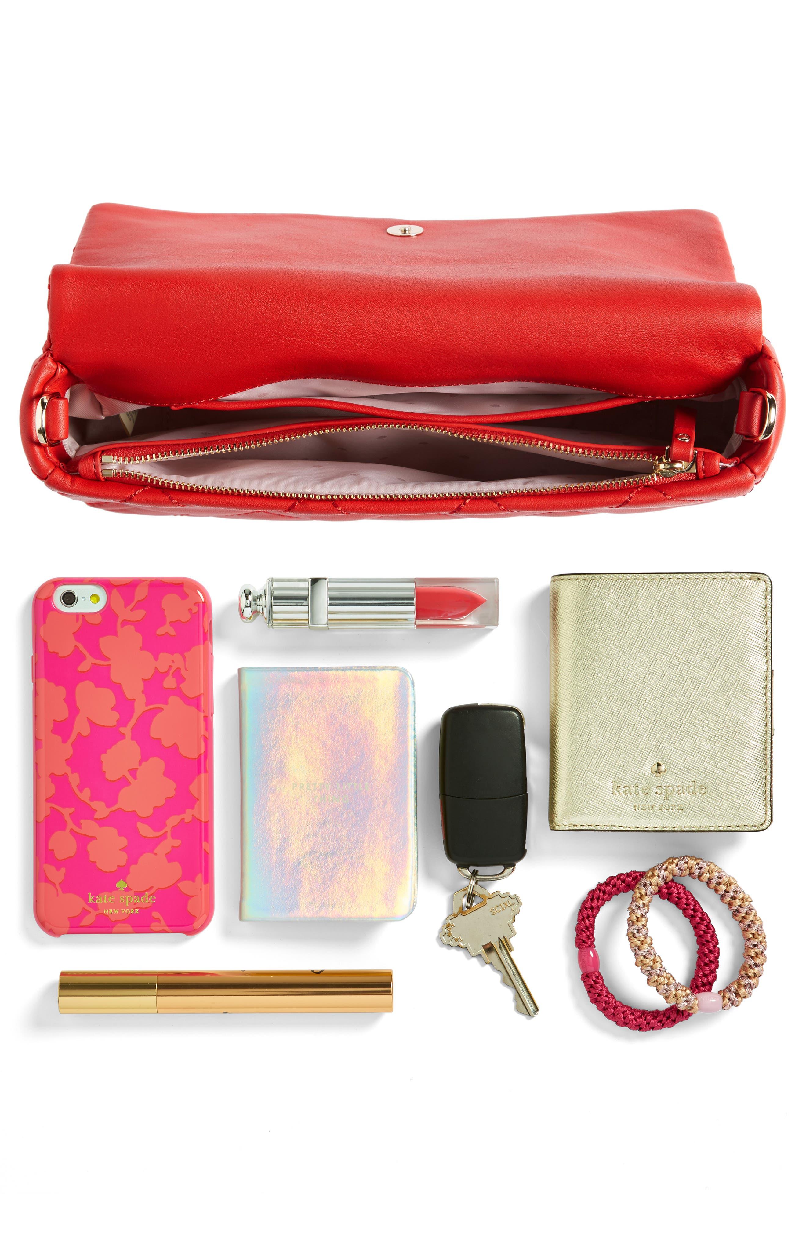 emerson place - serena leather shoulder bag,                             Alternate thumbnail 19, color,