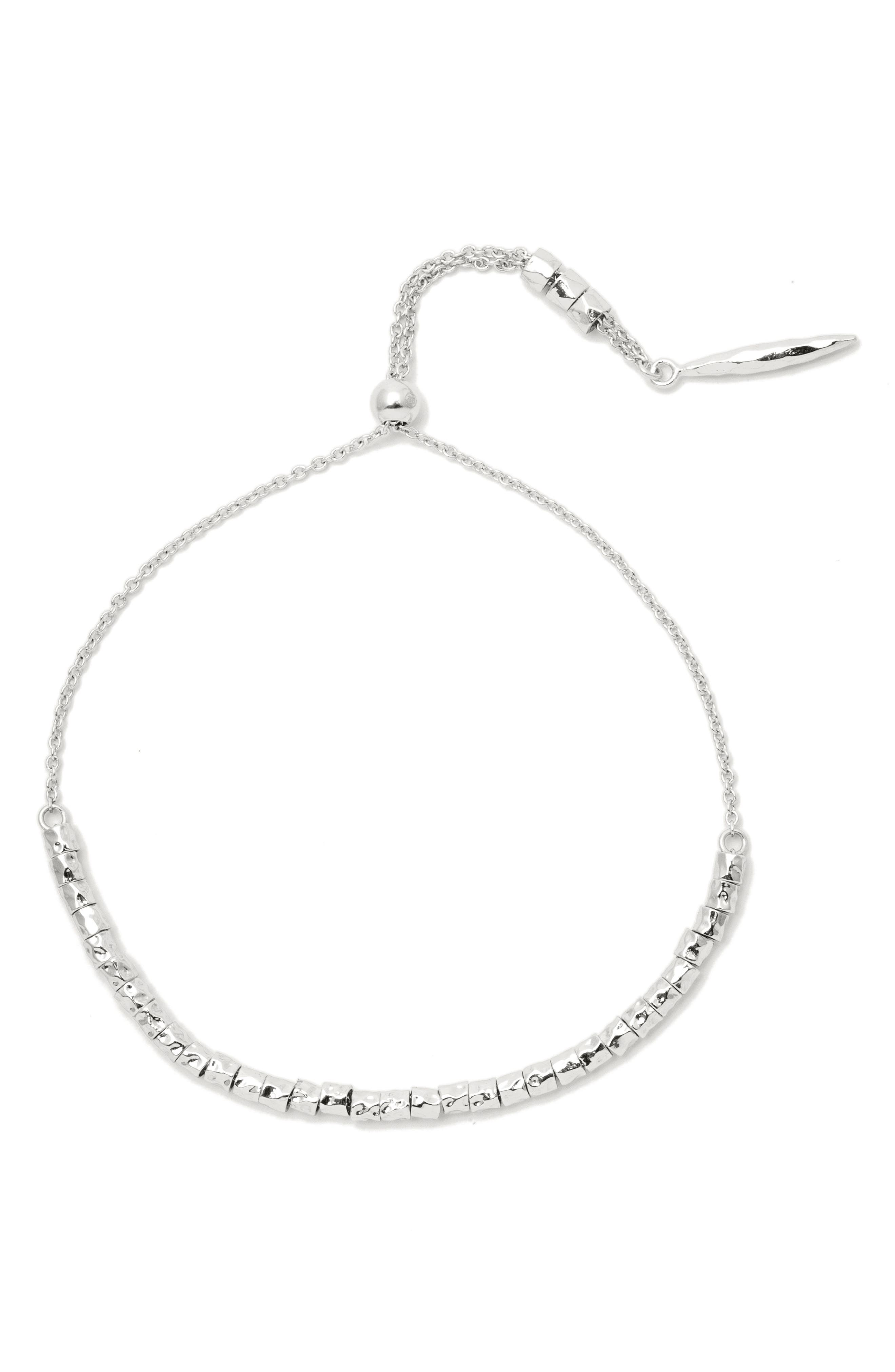 Laguna Bracelet,                         Main,                         color, SILVER