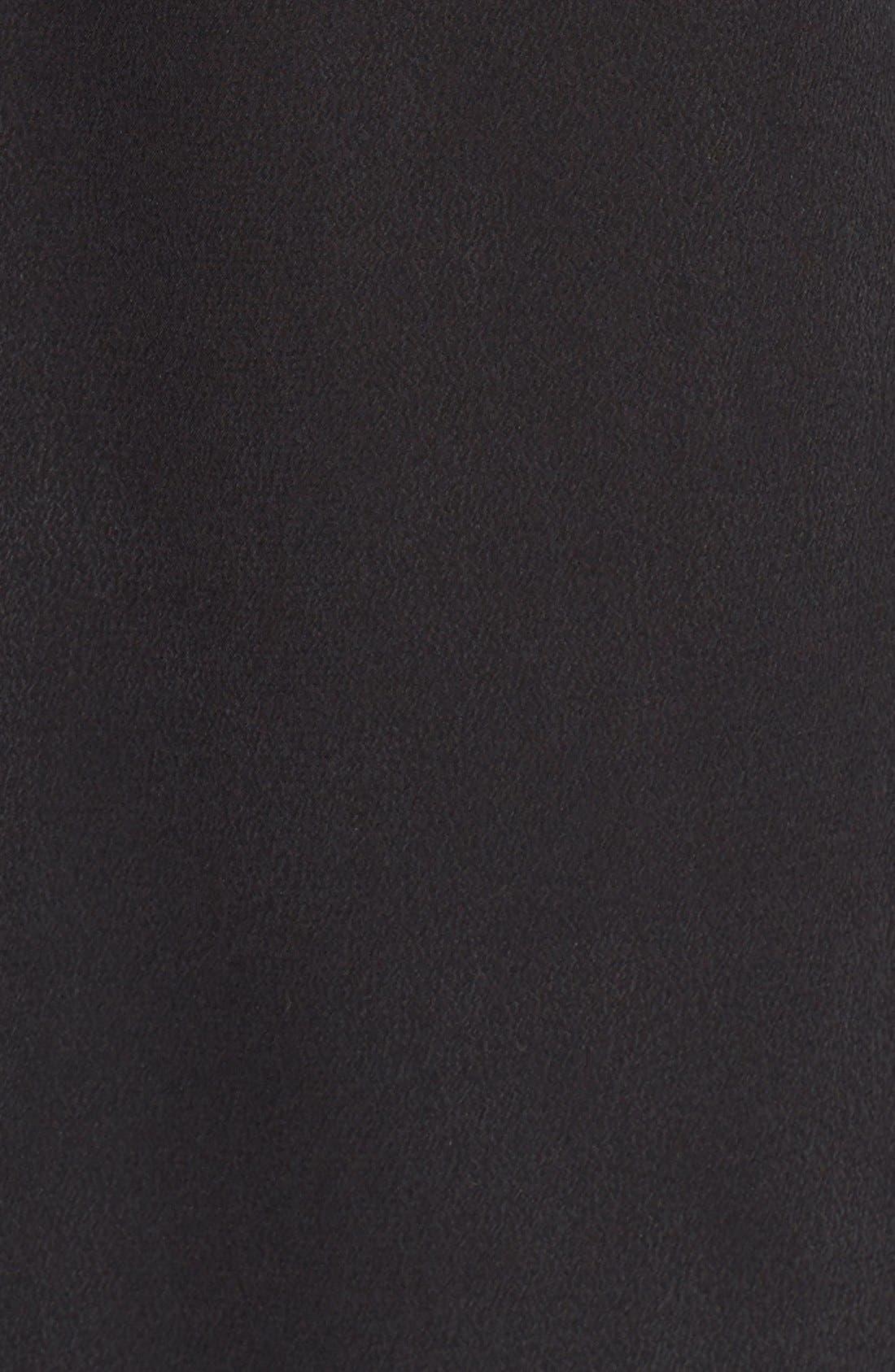 'Signature' Silk Shirtdress,                             Alternate thumbnail 7, color,