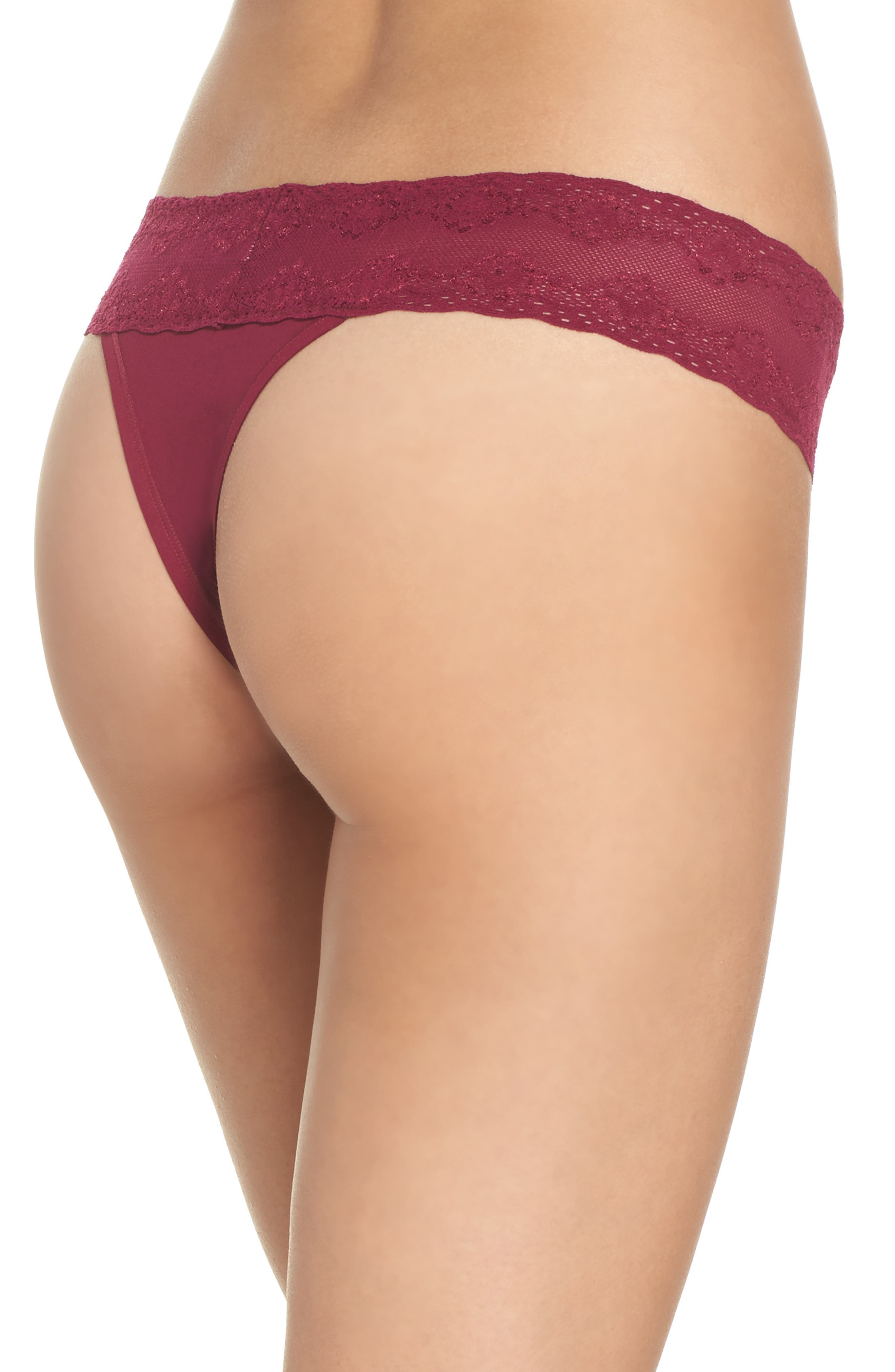 Bliss Perfection Thong,                             Alternate thumbnail 138, color,