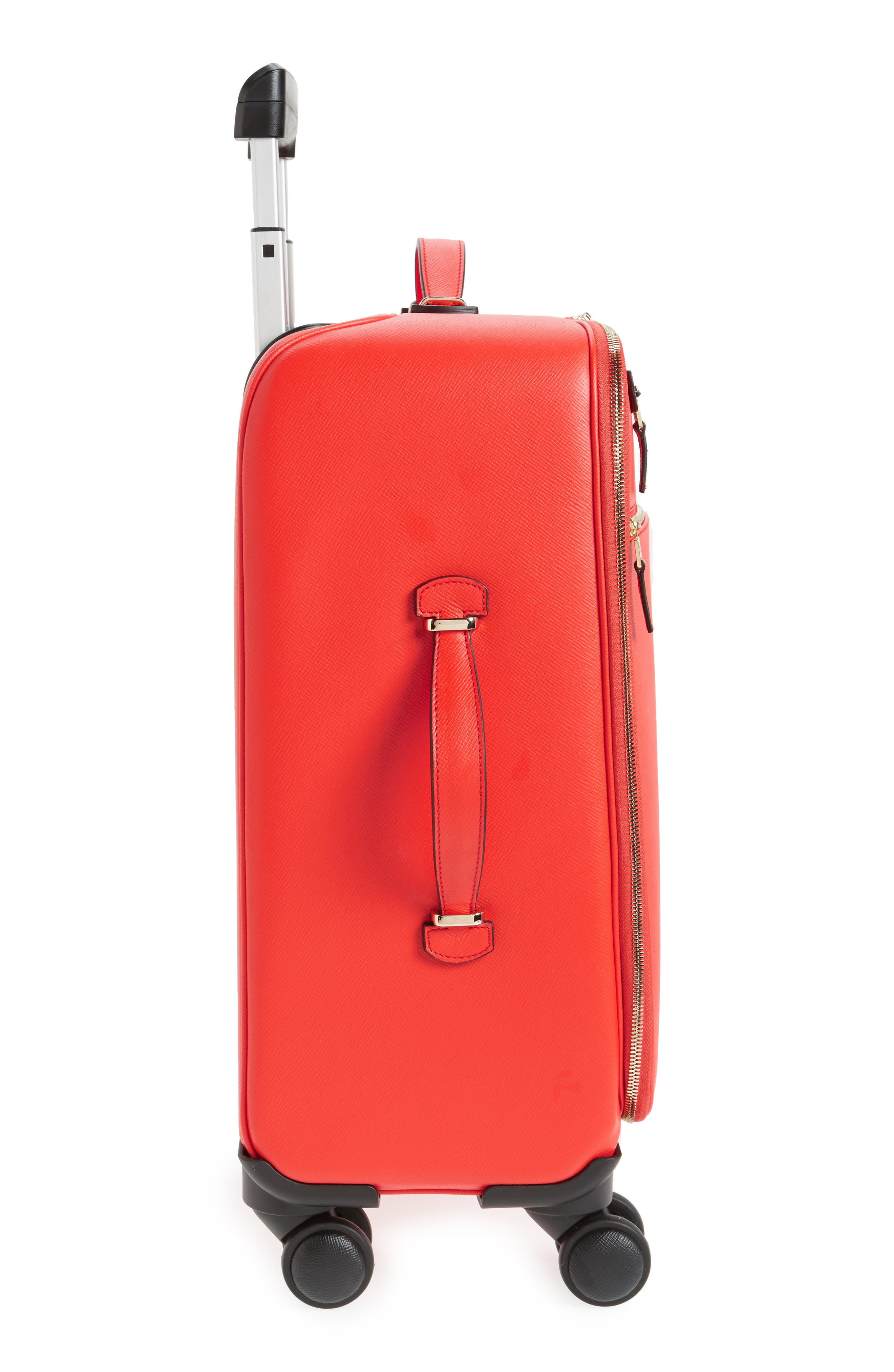 Trolley Spinner Wheeled Carry-On Suitcase,                             Alternate thumbnail 14, color,