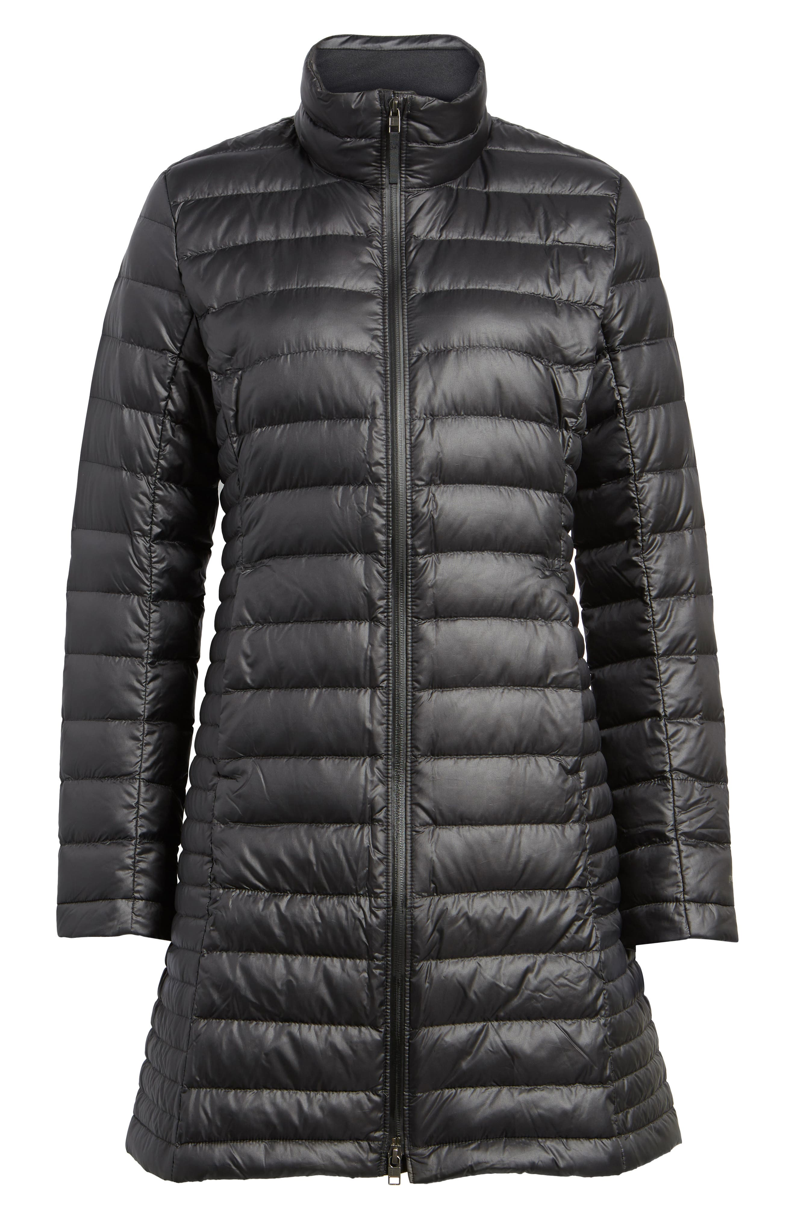 Fiona Water Repellent 600-Fill-Power Down Parka,                             Alternate thumbnail 6, color,                             001