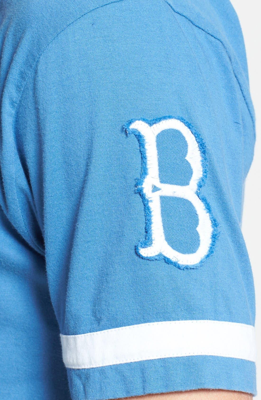 RED JACKET,                             'Brooklyn Dodgers - Remote Control' T-Shirt,                             Alternate thumbnail 3, color,                             450