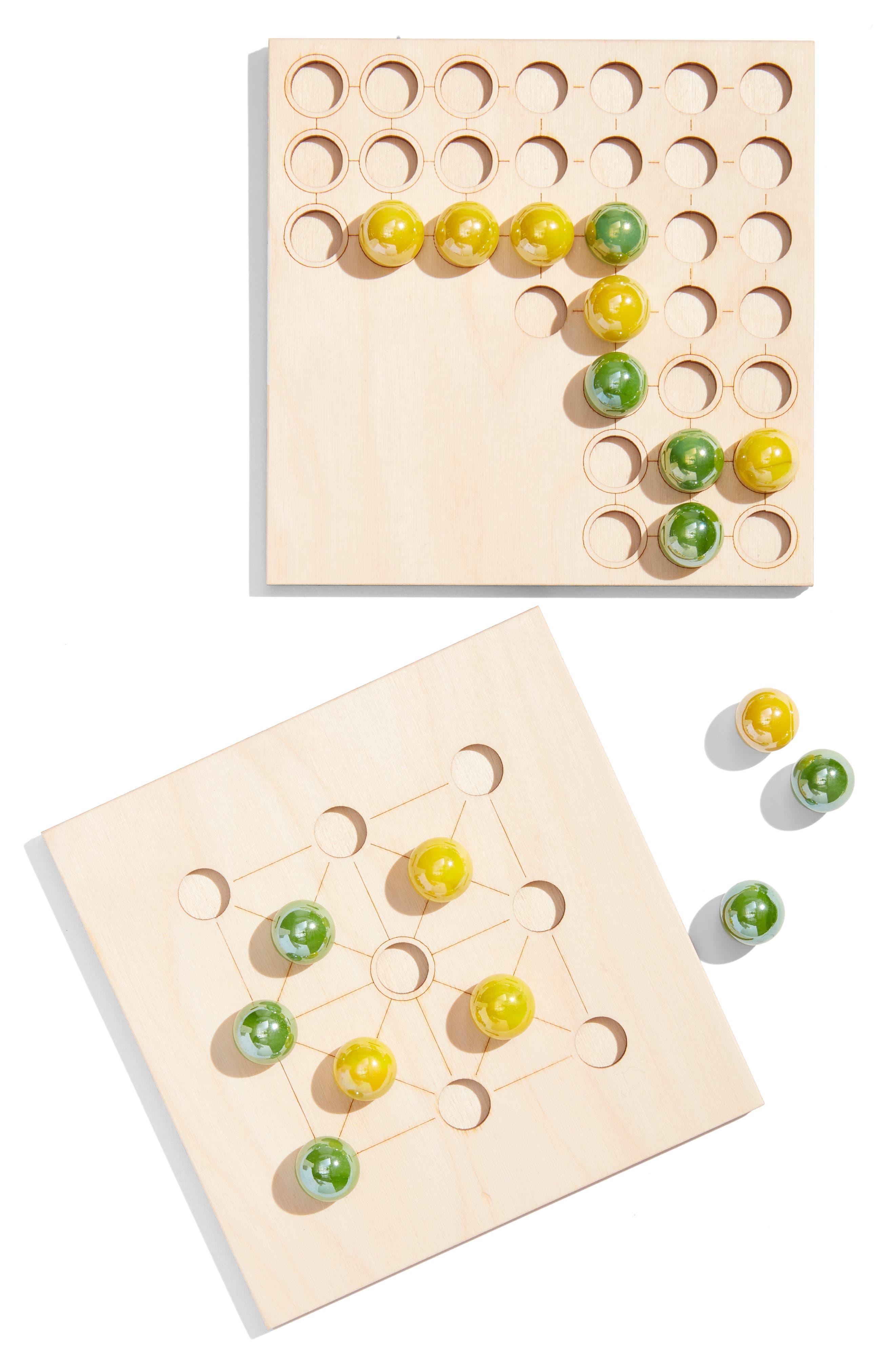 Bright Beam Good Marble Games,                             Main thumbnail 1, color,                             YELLOW/ GREEN