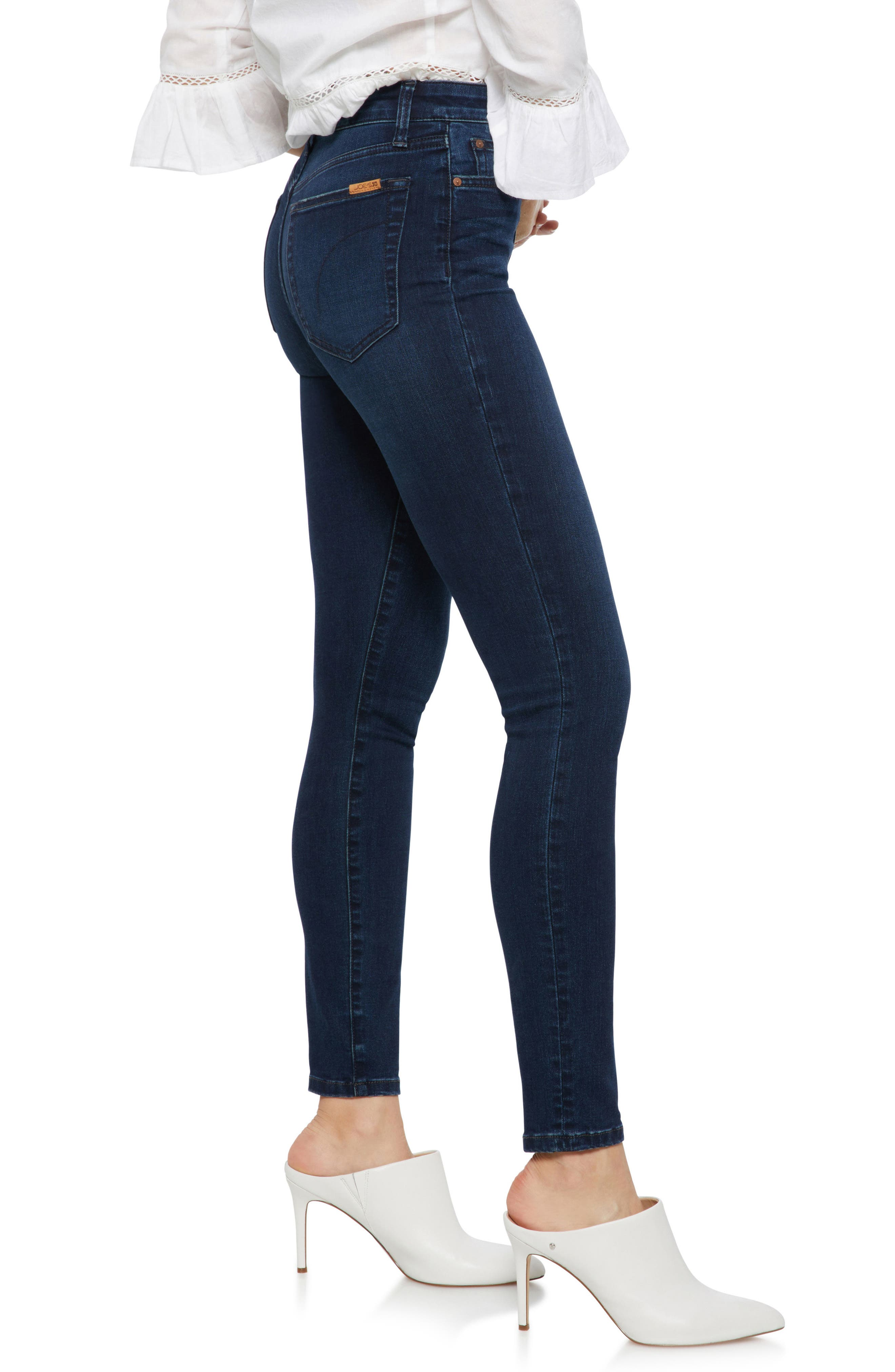 Charlie High Rise Skinny Jeans,                             Alternate thumbnail 3, color,                             HOPE