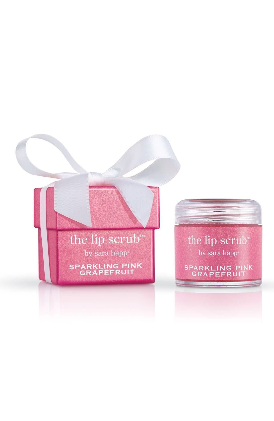 The Lip Scrub<sup>™</sup> Sparkling Pink Grapefruit Lip Exfoliator,                             Alternate thumbnail 3, color,                             650