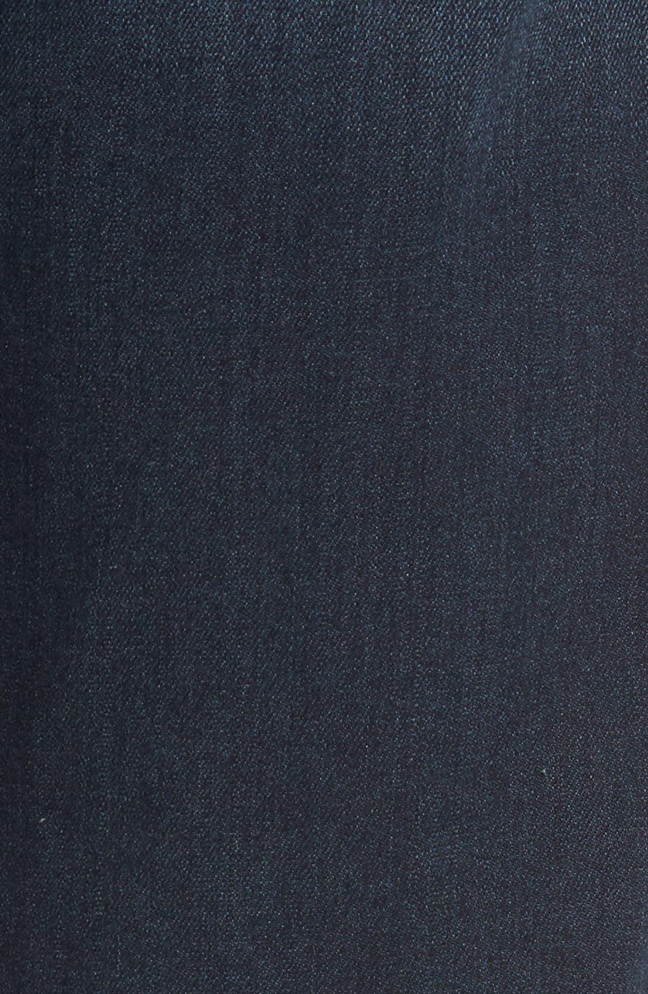 Normandie Straight Fit Jeans,                             Alternate thumbnail 5, color,                             400