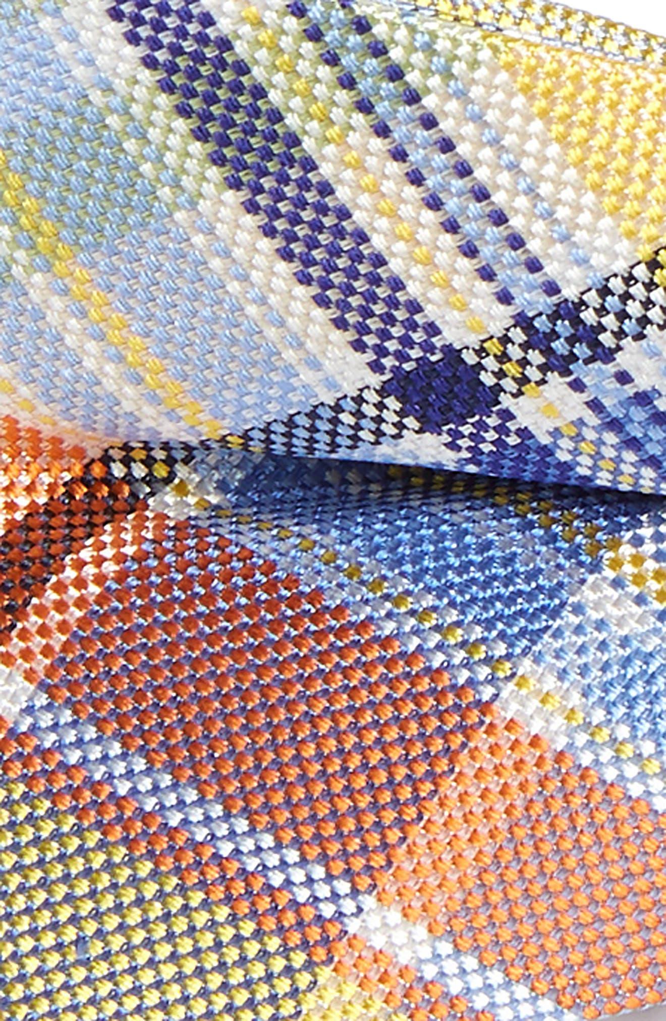 Madras Plaid Bow Tie,                             Alternate thumbnail 2, color,