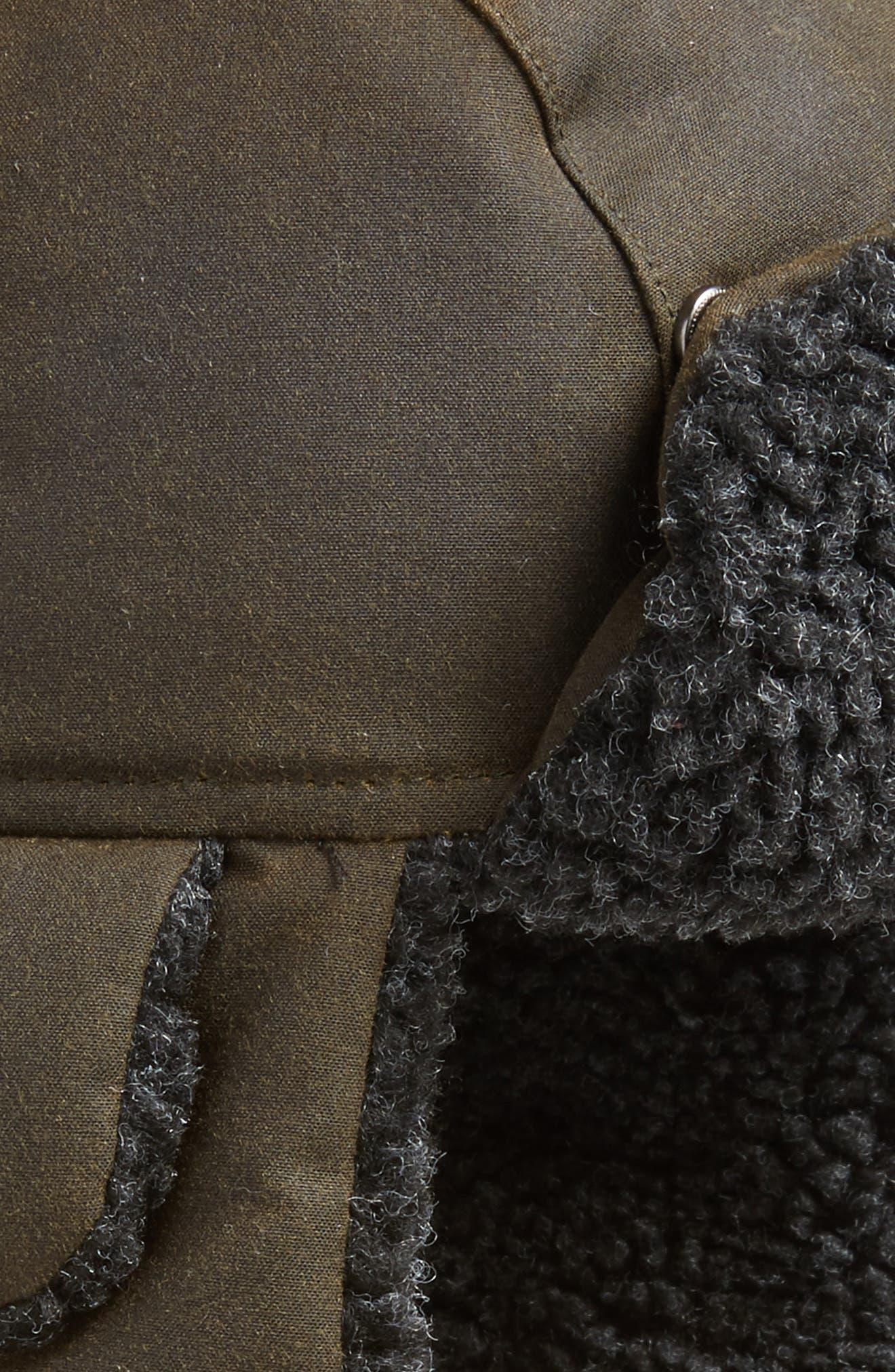 Fleece Lined Trapper Hat,                             Alternate thumbnail 3, color,