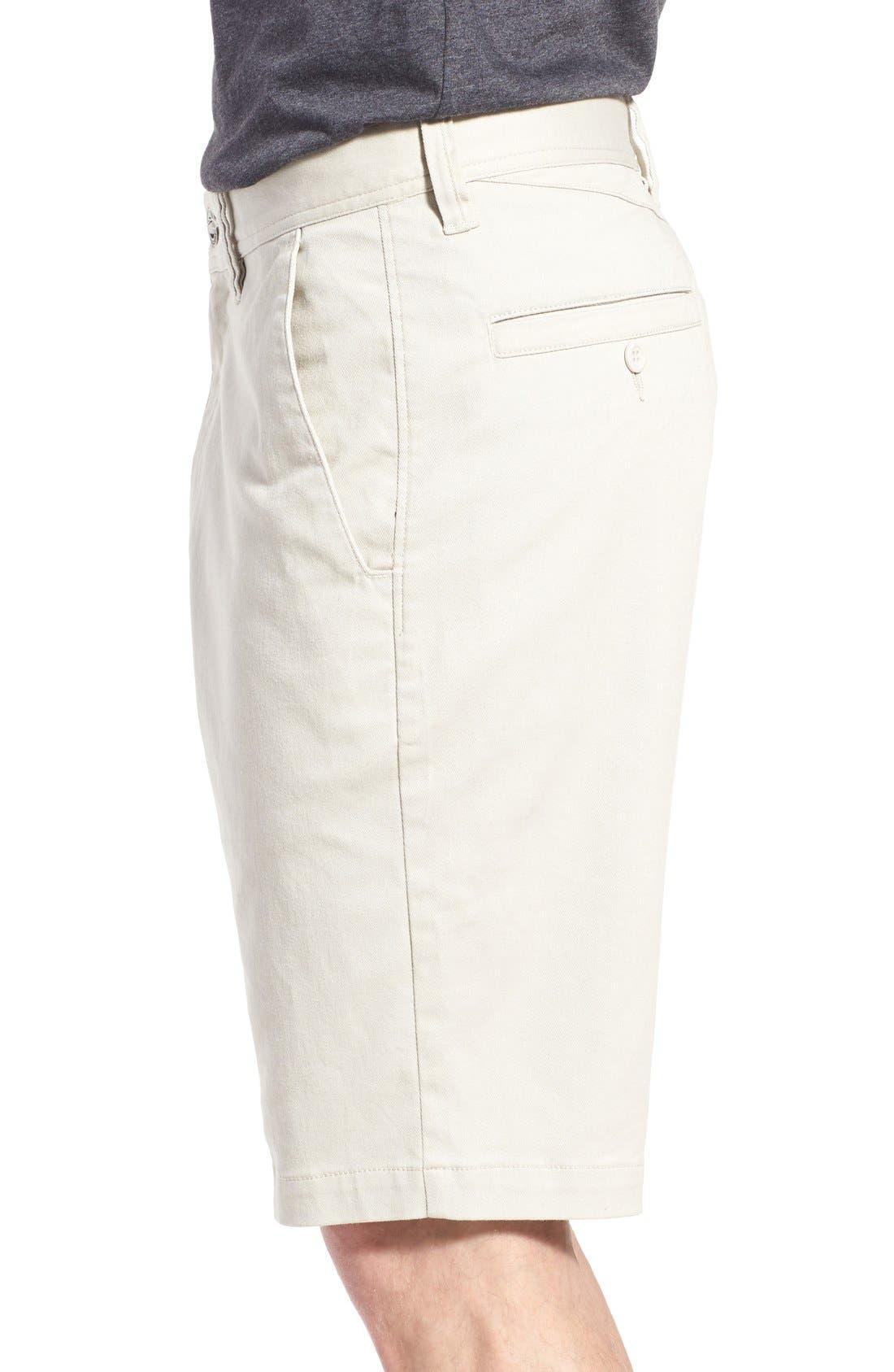 'Modern' Stretch Chino Shorts,                             Alternate thumbnail 29, color,
