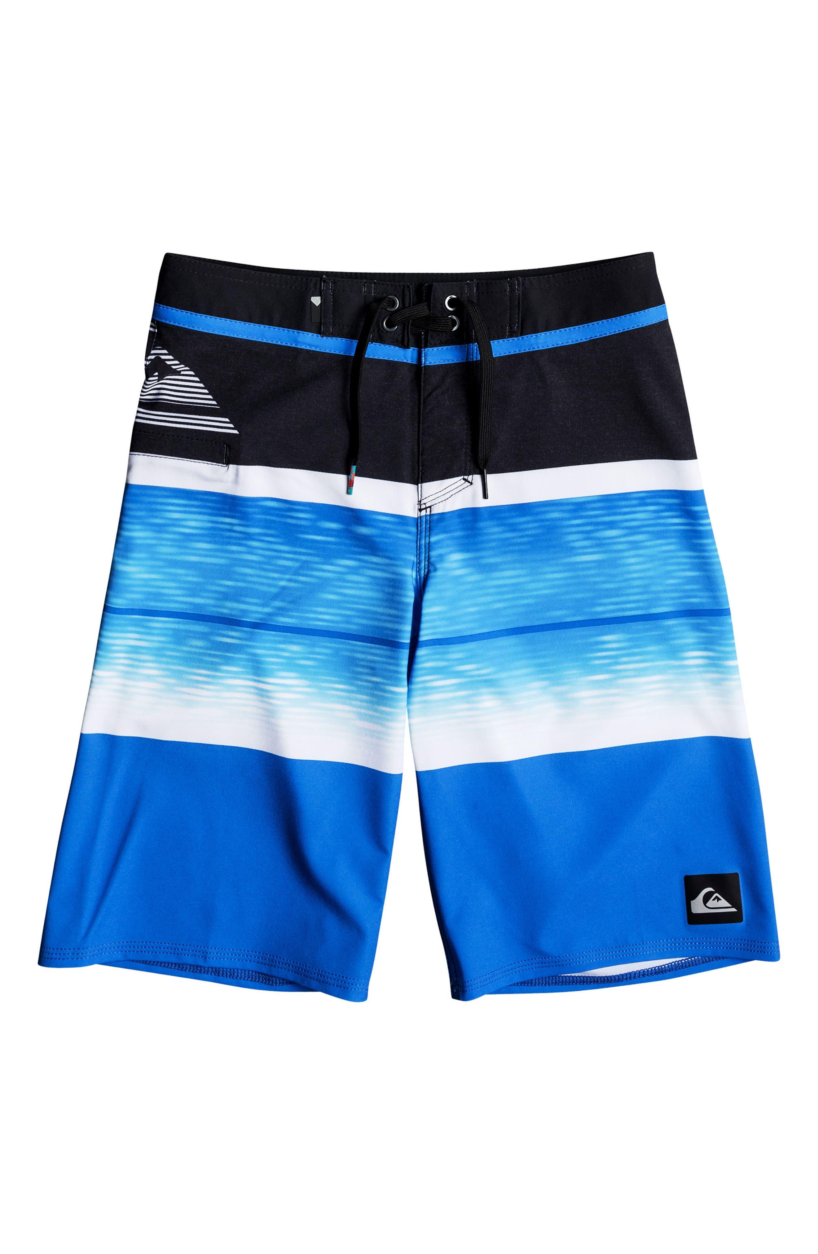 Slab Logo Vee Board Shorts,                         Main,                         color,