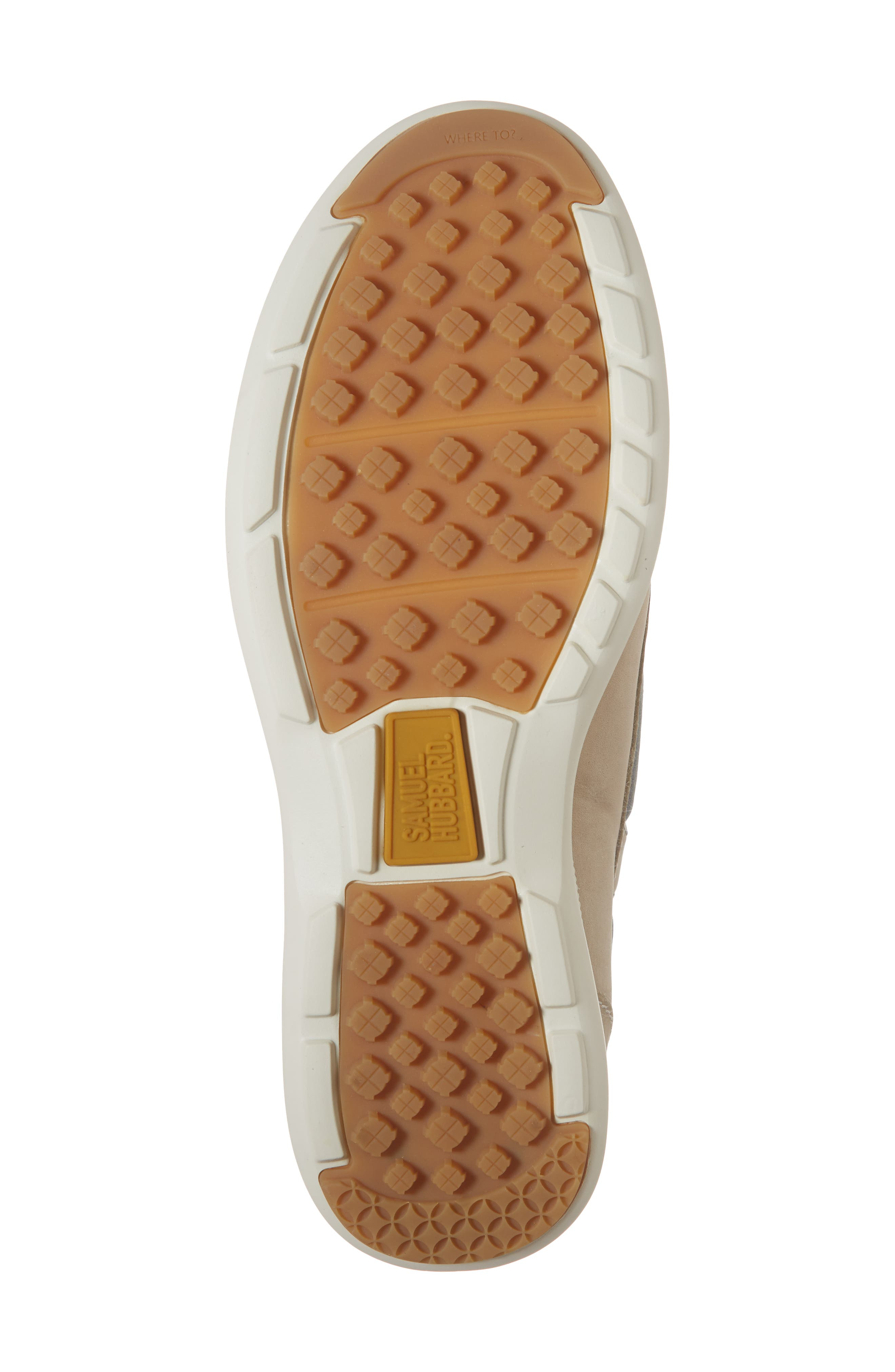 First Up Golf Shoe,                             Alternate thumbnail 6, color,                             DRIFTWOOD NATURAL
