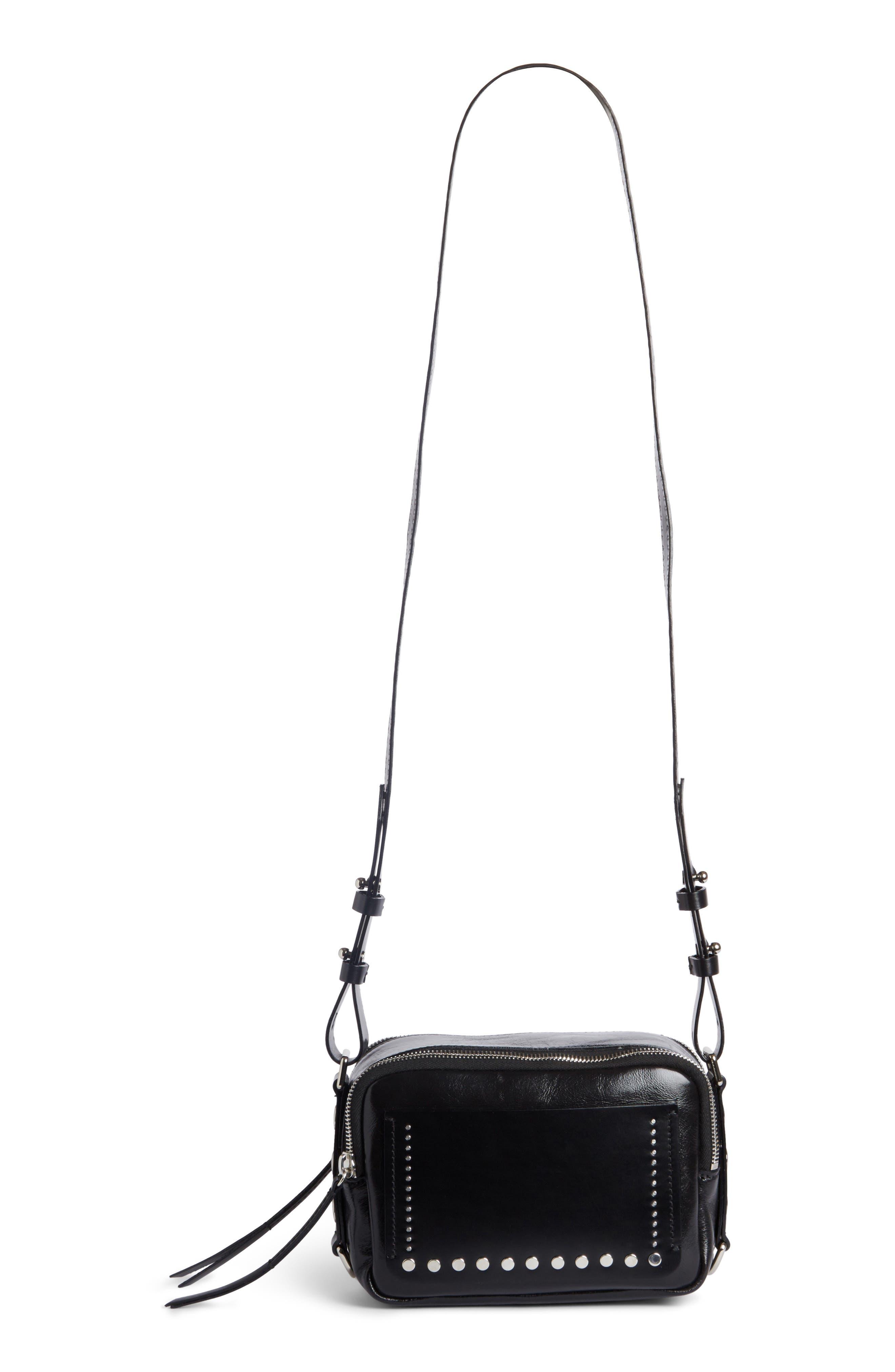Tinley Studded Leather Crossbody Bag,                             Alternate thumbnail 2, color,                             003