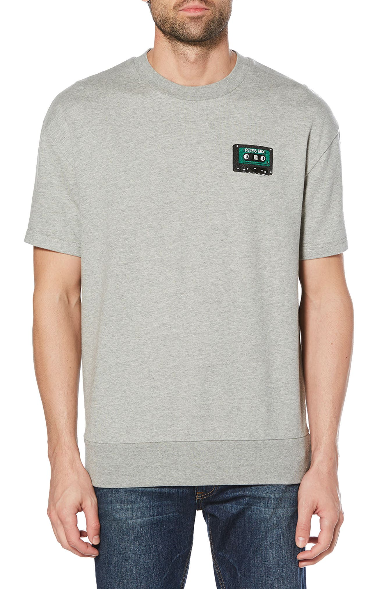 Crewneck T-Shirt,                             Main thumbnail 1, color,                             080