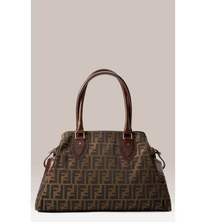 ea445afeed7d Fendi  Bag de Jour - Zucca  Logo Jacquard Fabric Bag