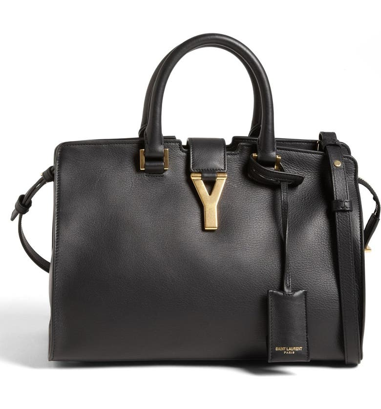 8b039904da22 Saint Laurent  Petite Ligne Y  Leather Tote
