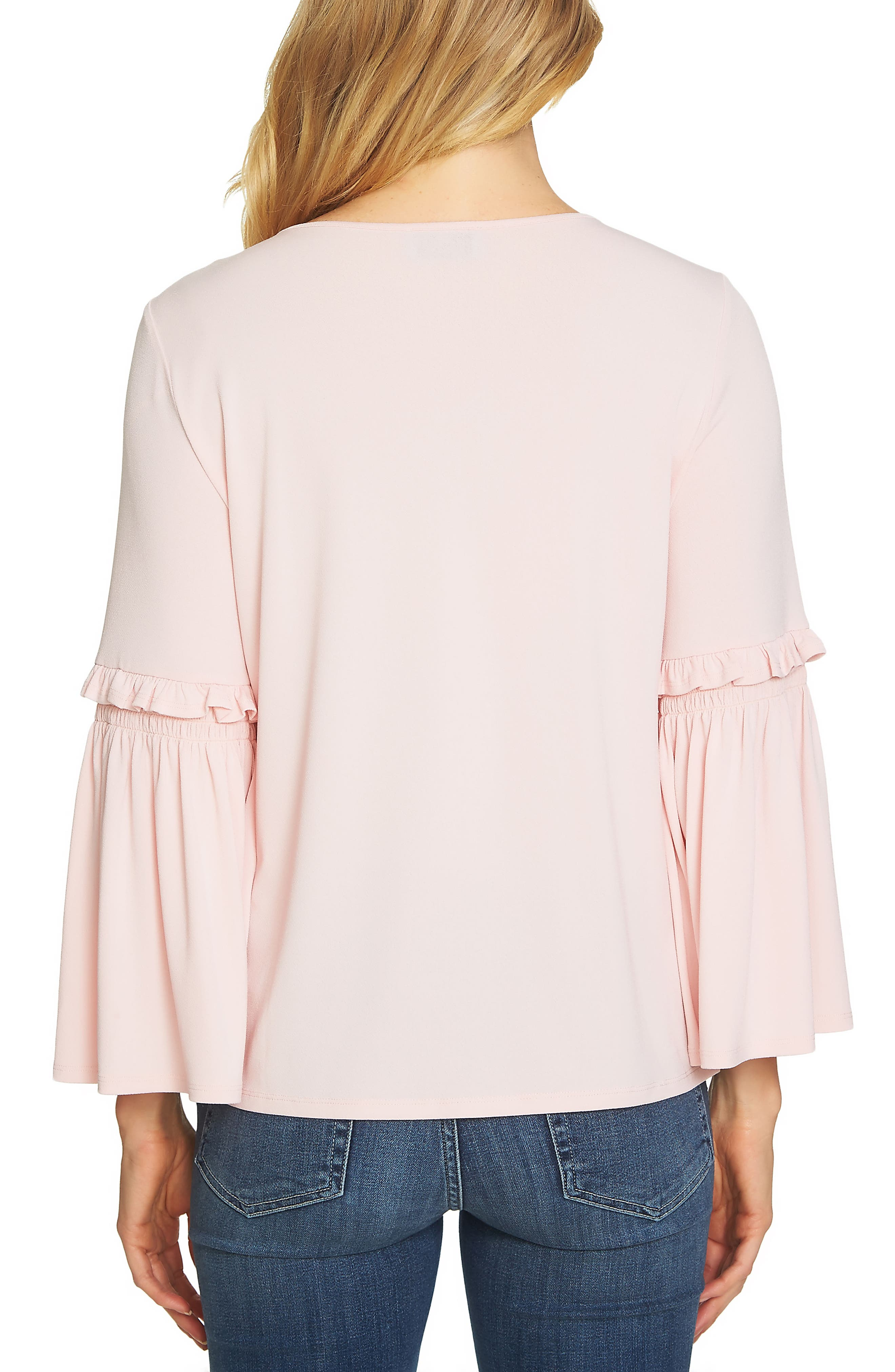 Bell Sleeve Knit Top,                             Alternate thumbnail 7, color,