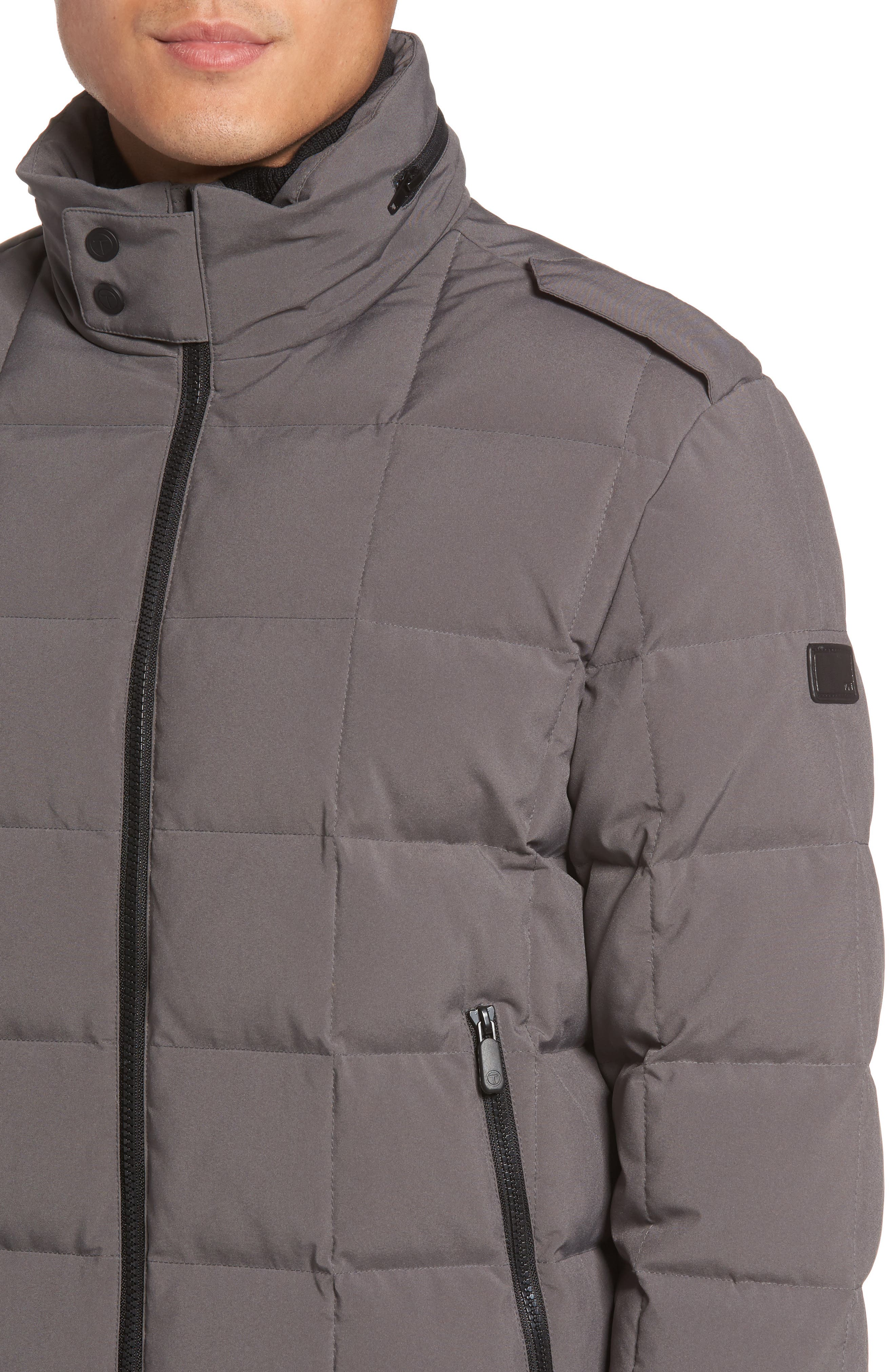 Box Quilted Jacket,                             Alternate thumbnail 8, color,