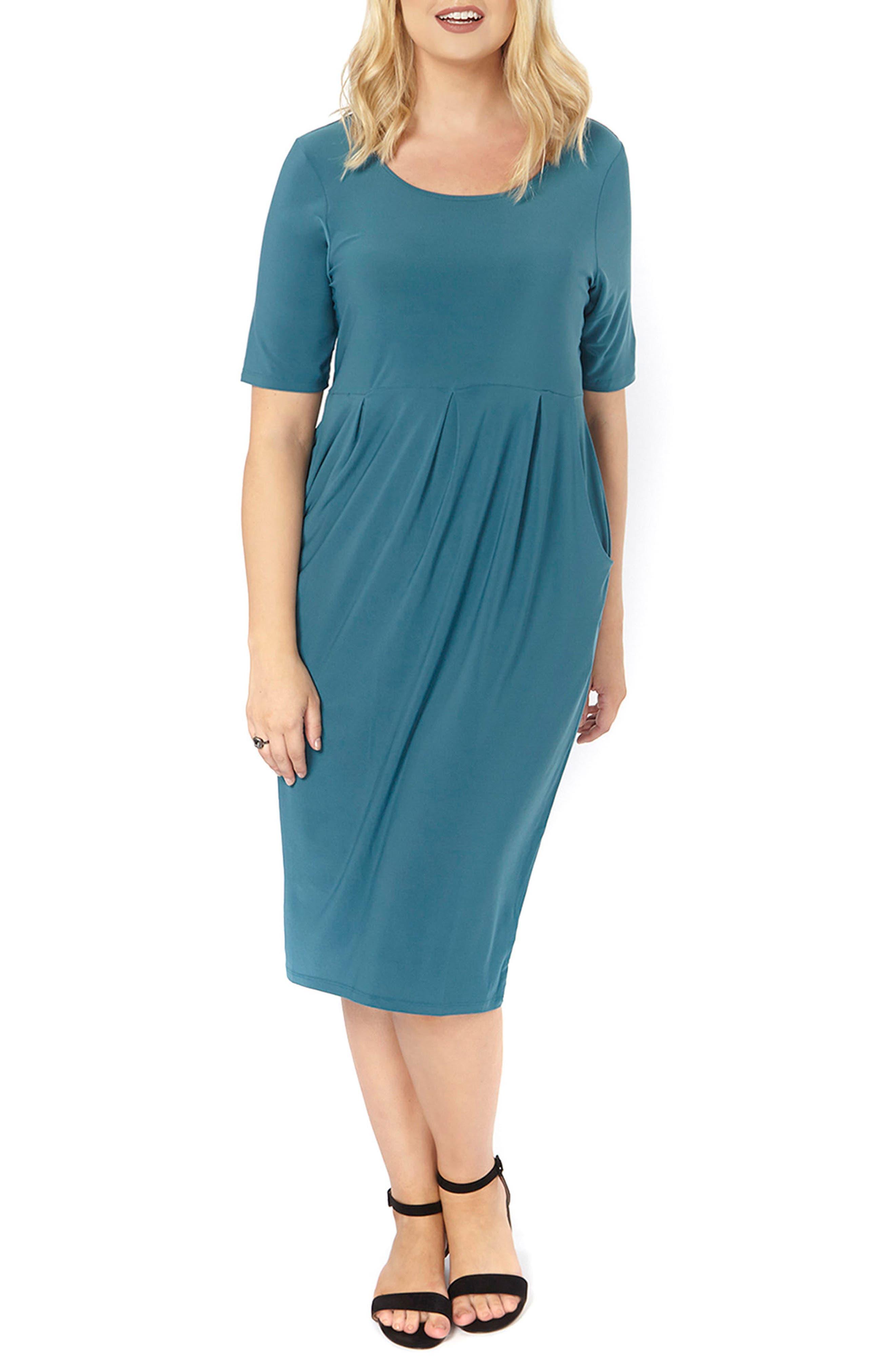 Pocket Dress,                             Alternate thumbnail 5, color,                             300