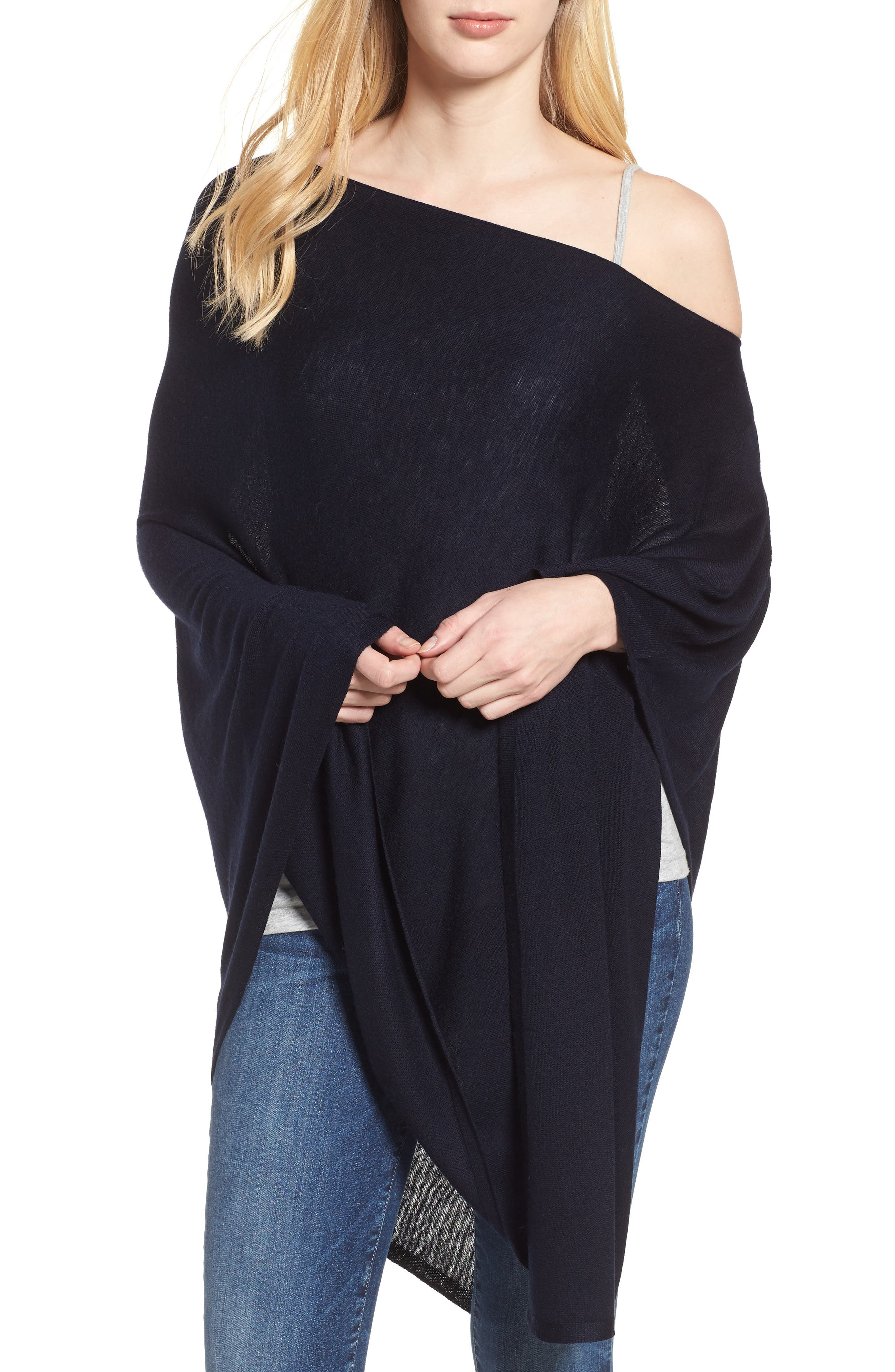 Core Everyday Topper,                         Main,                         color, ECHO NAVY