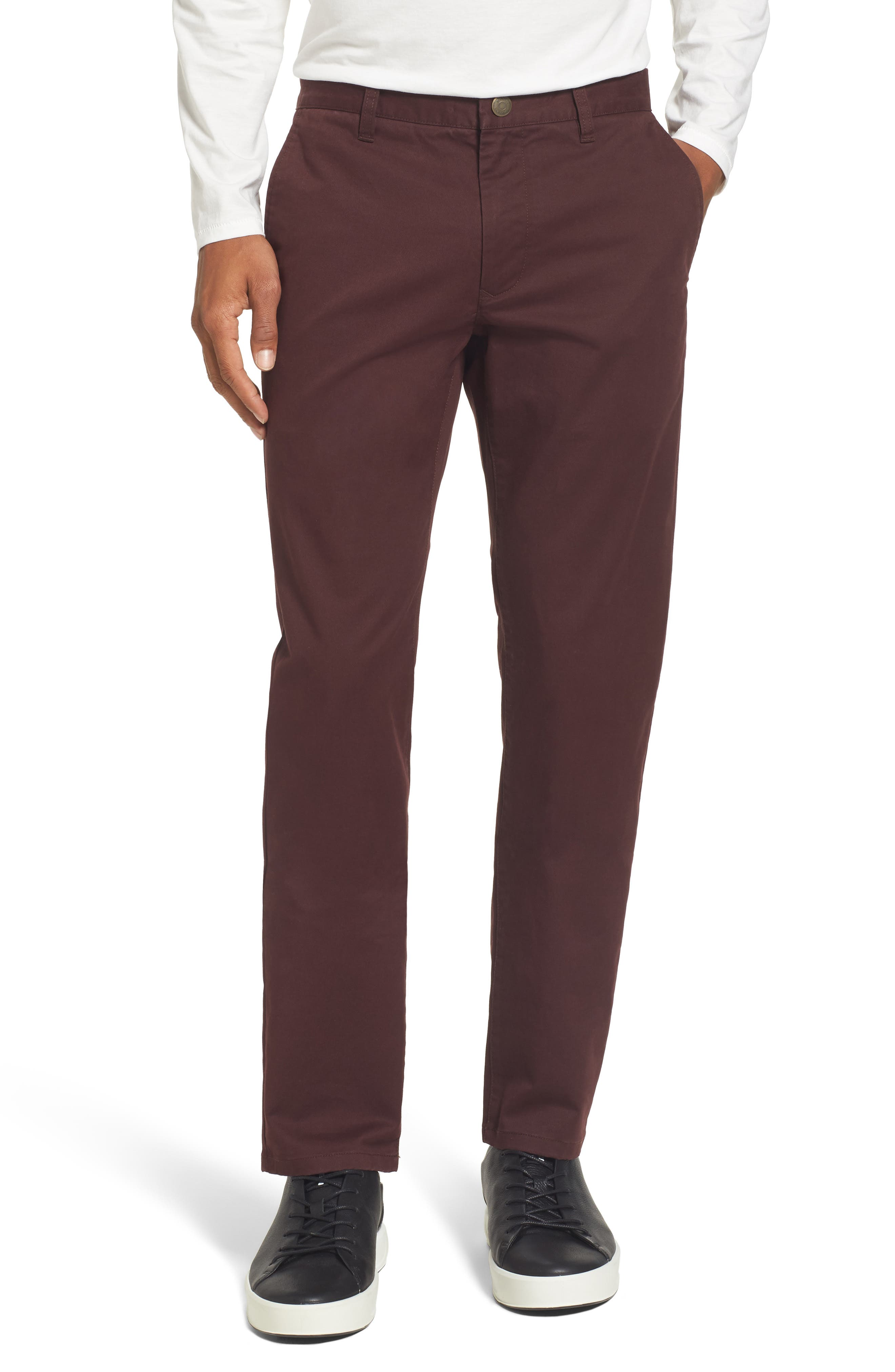 Tailored Fit Washed Stretch Cotton Chinos,                             Main thumbnail 23, color,