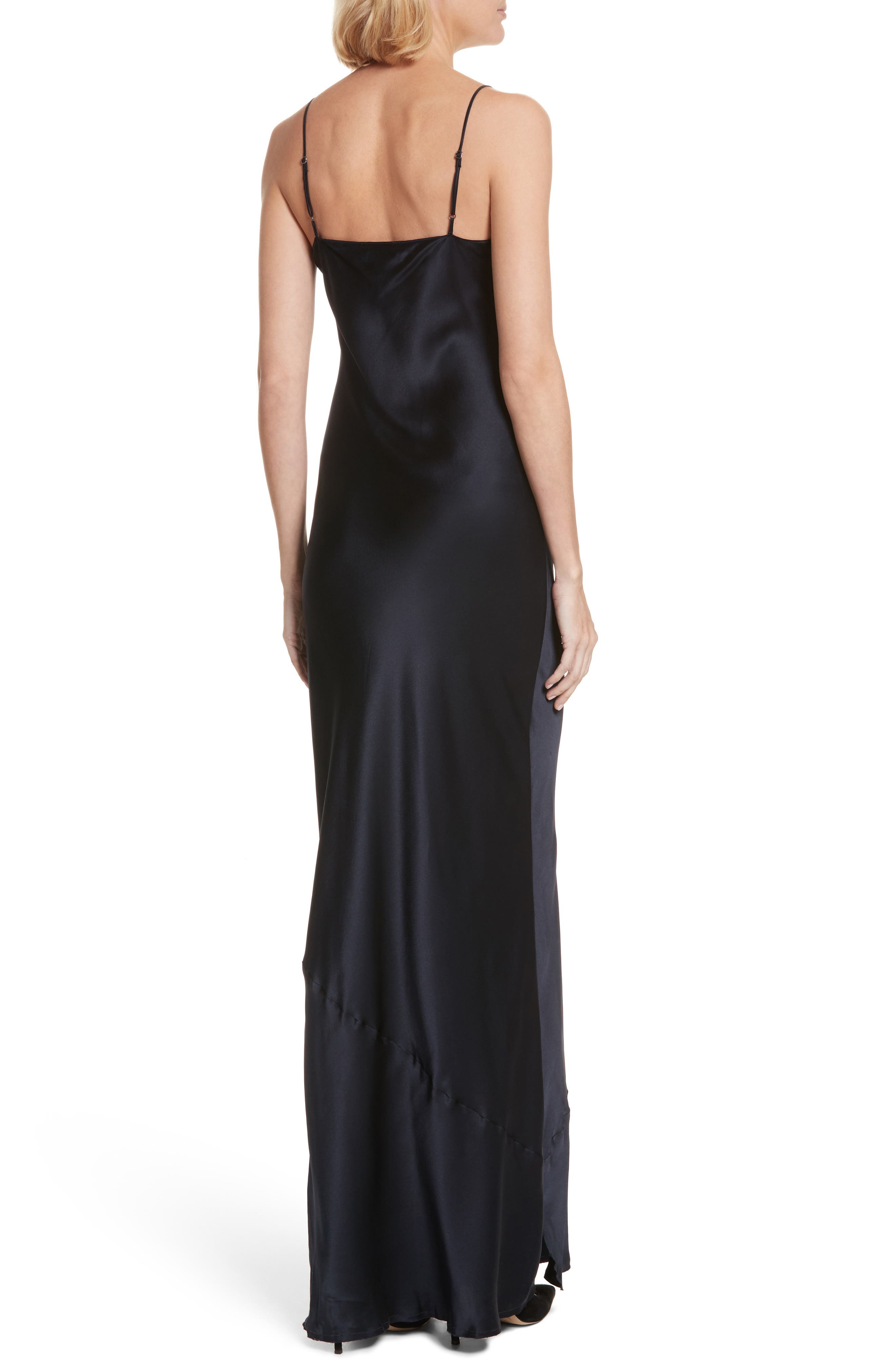 Silk Camisole Gown,                             Alternate thumbnail 2, color,                             410
