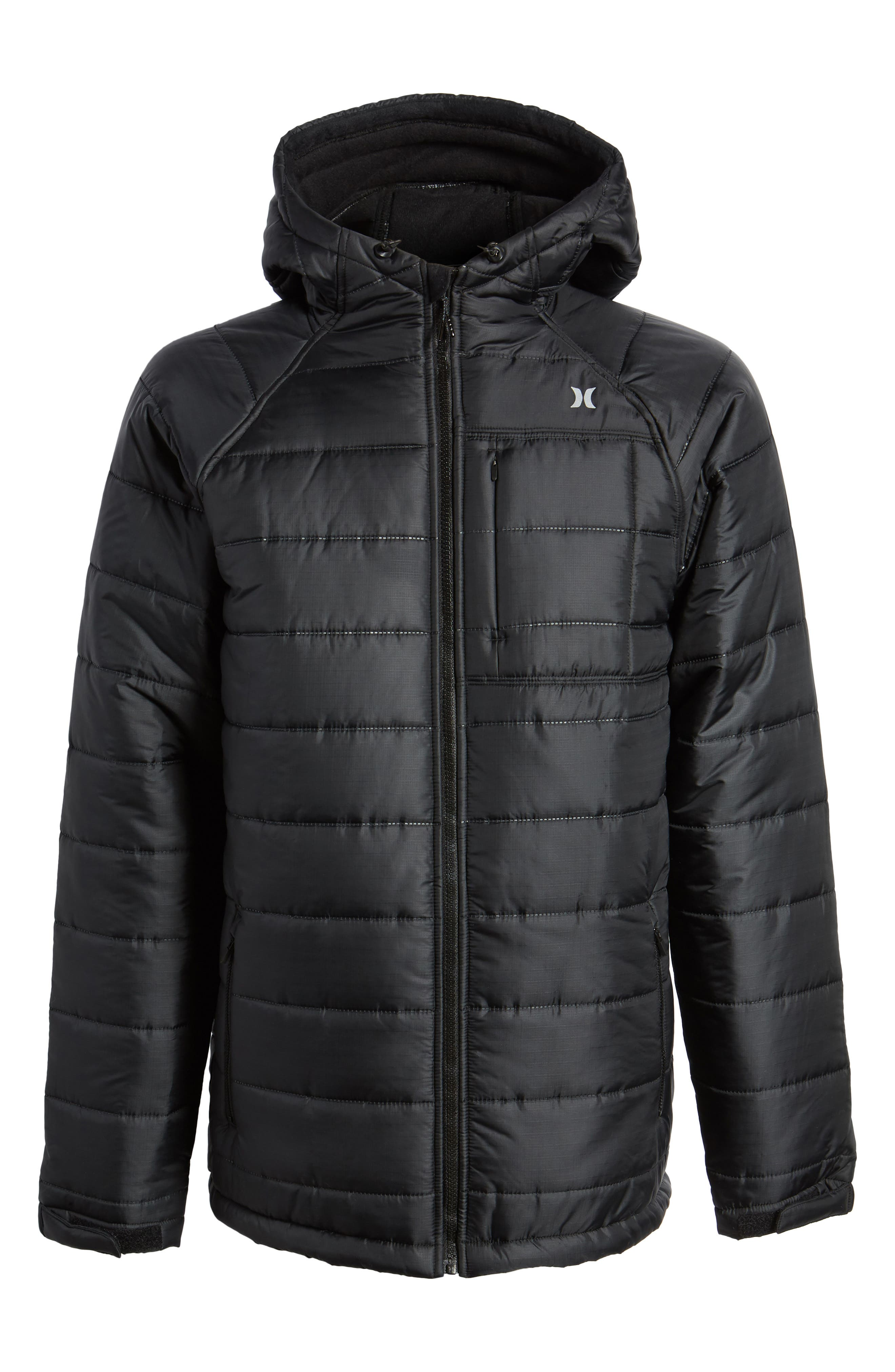 Protect Max Water-Repellent Quilted Jacket,                             Alternate thumbnail 5, color,