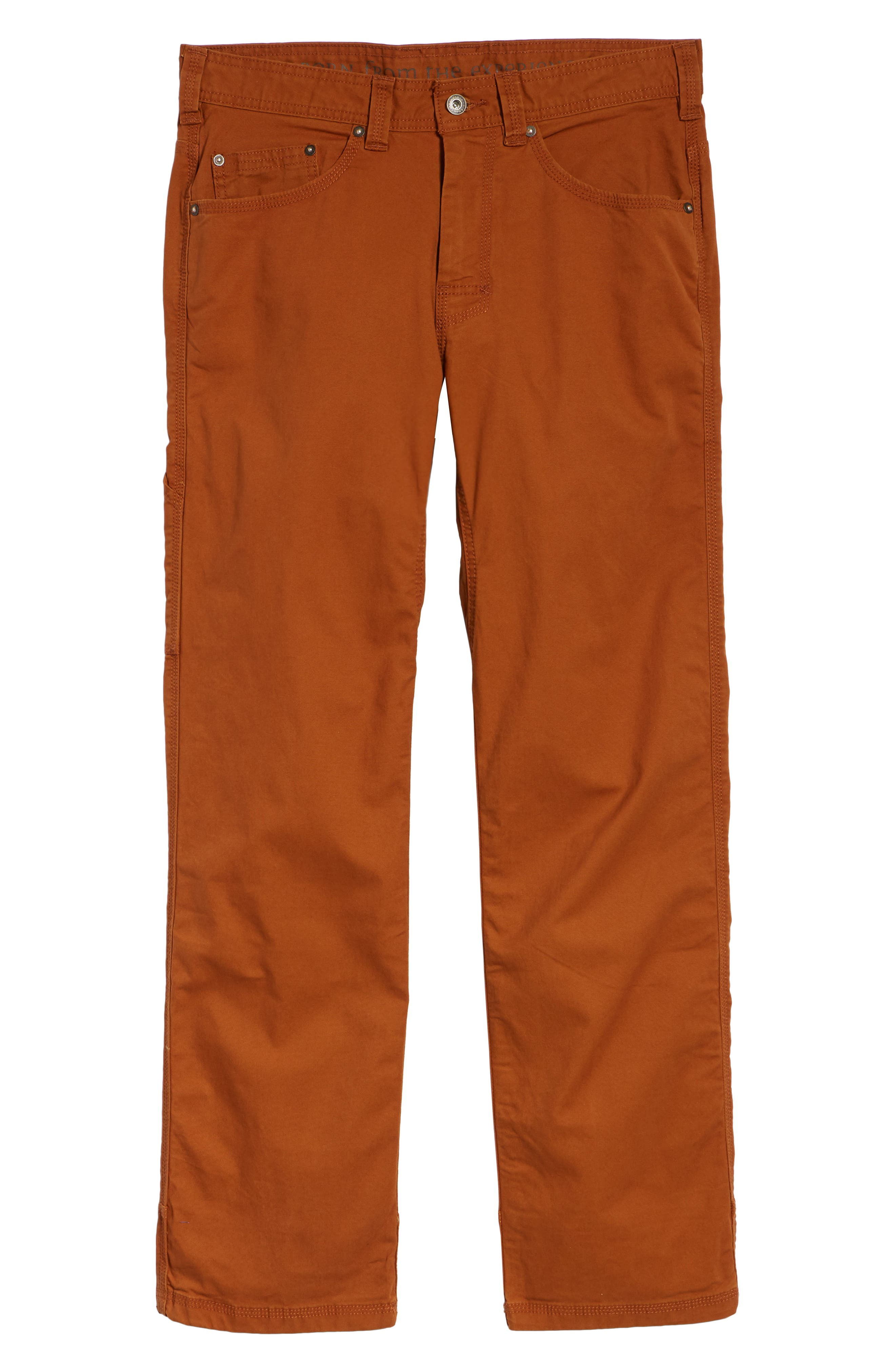 Bronson Pants,                             Alternate thumbnail 6, color,                             BURNT CARAMEL