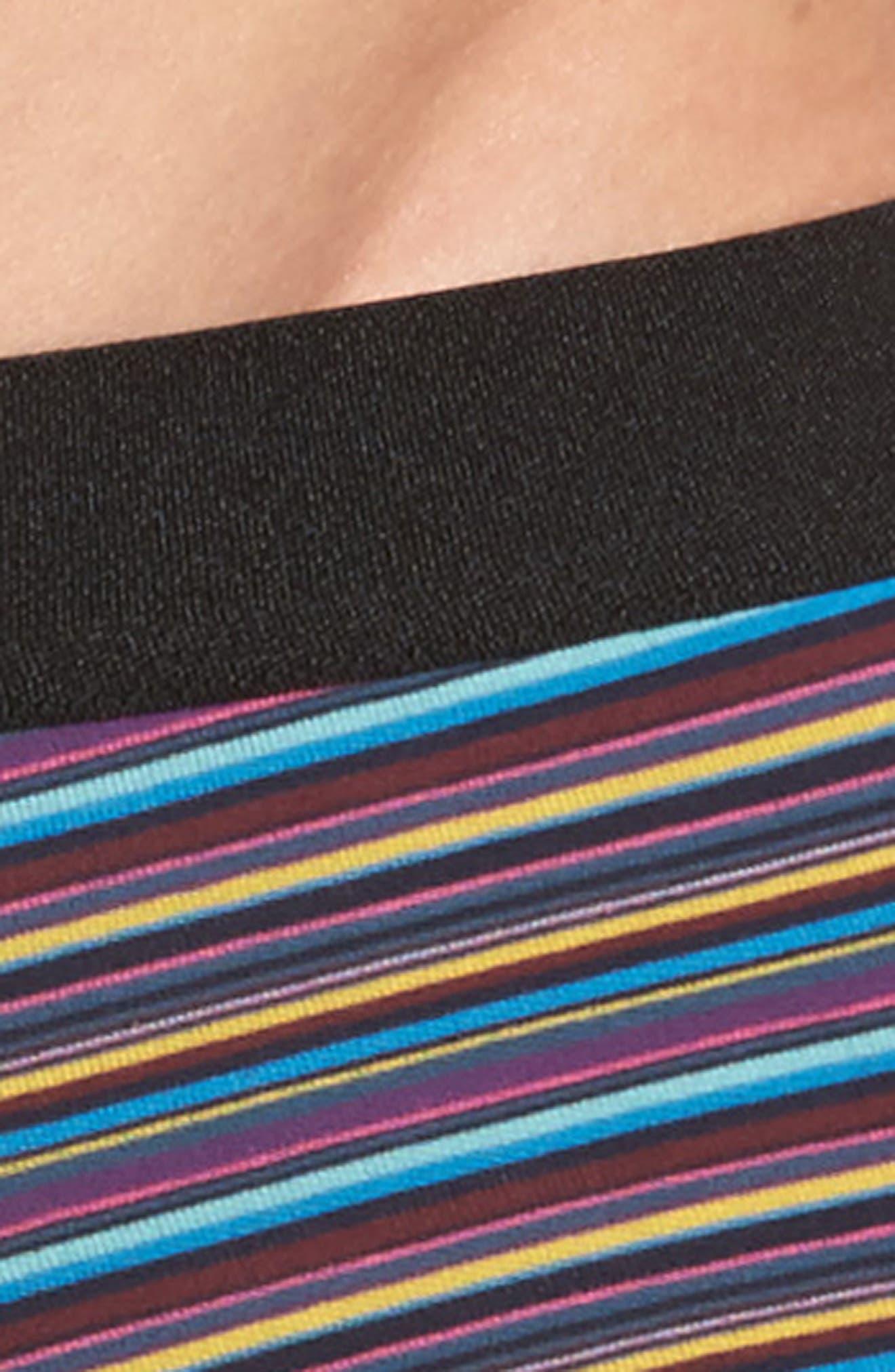 Fine Stripe Stretch Cotton Trunks,                             Alternate thumbnail 8, color,