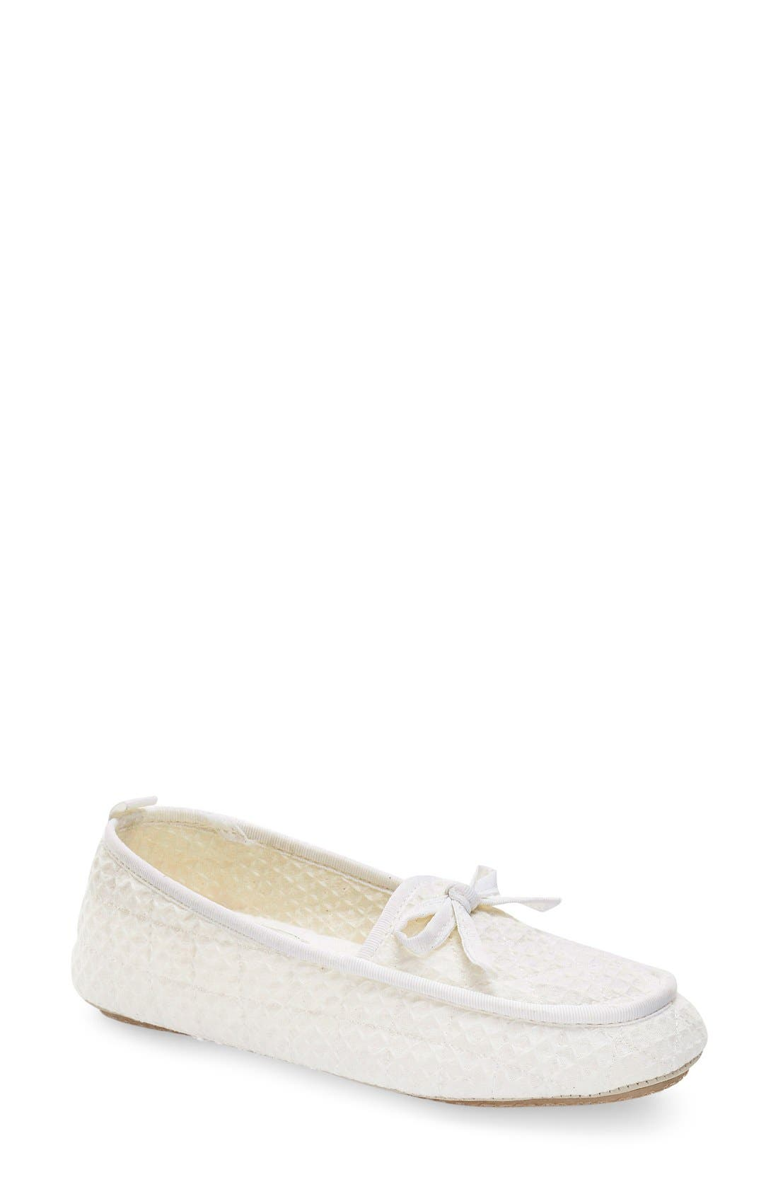 'Lizzie' Moccasin Slipper,                         Main,                         color,