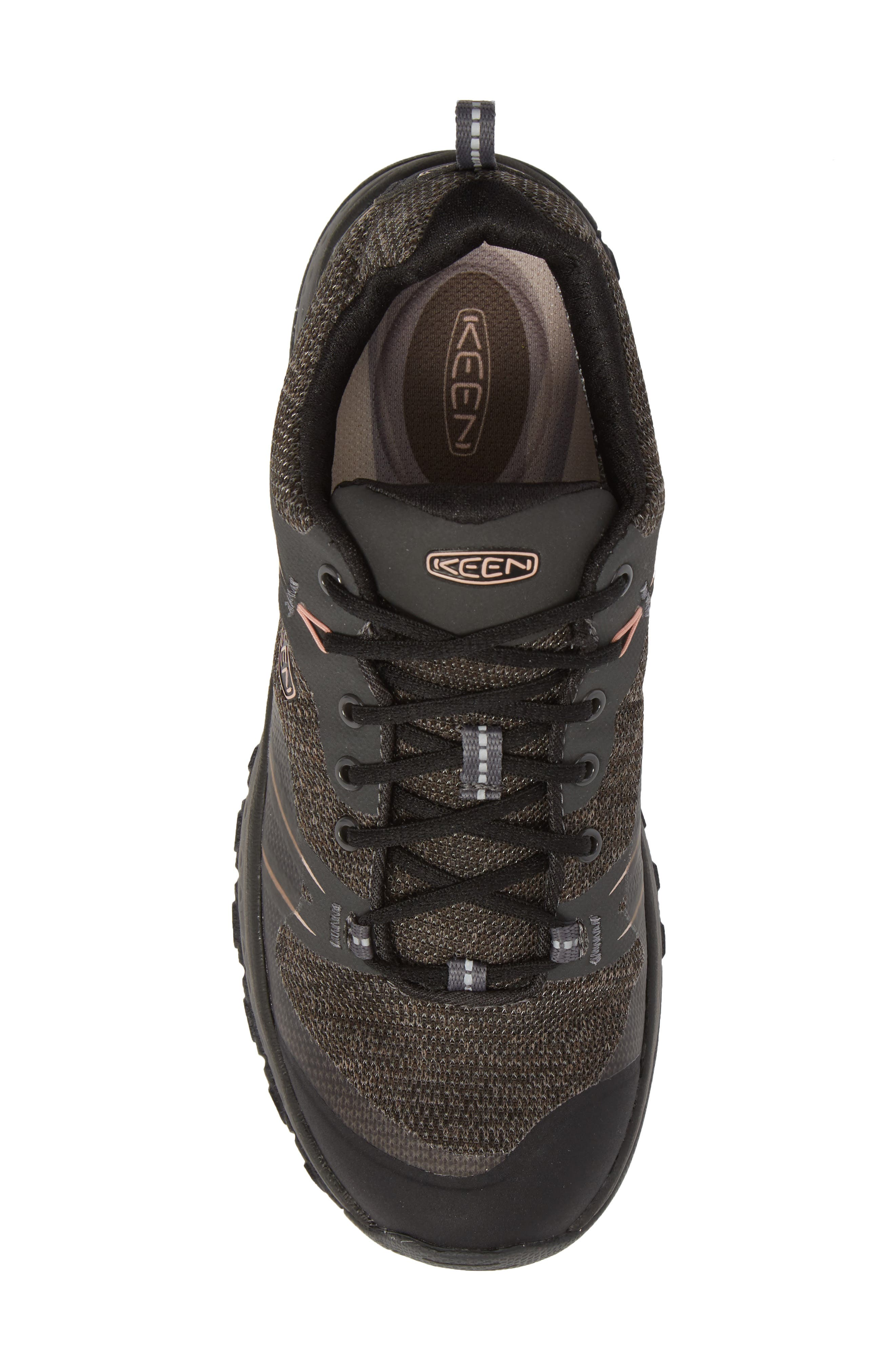 Terradora Waterproof Hiking Shoe,                             Alternate thumbnail 5, color,                             RAVEN/ ROSE DAWN