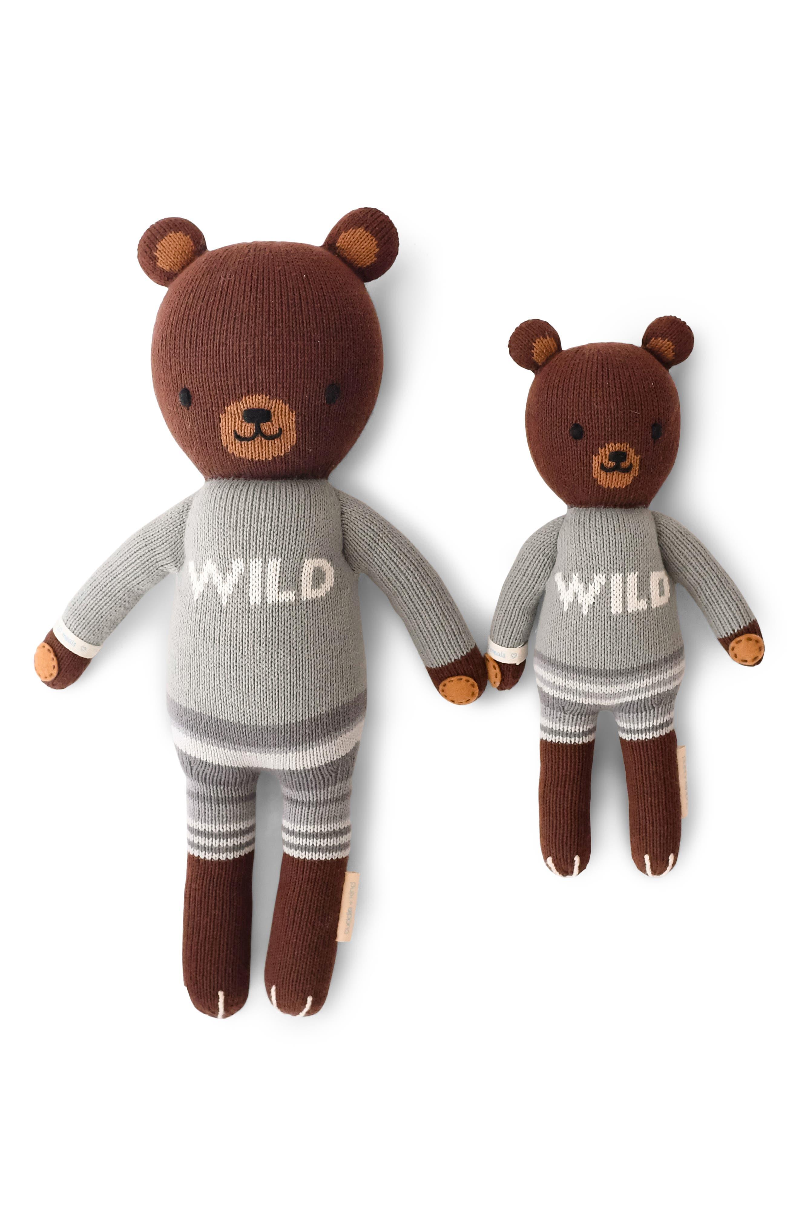 cuddle + kind Oliver the Bear Stuffed Animal,                             Main thumbnail 1, color,                             200