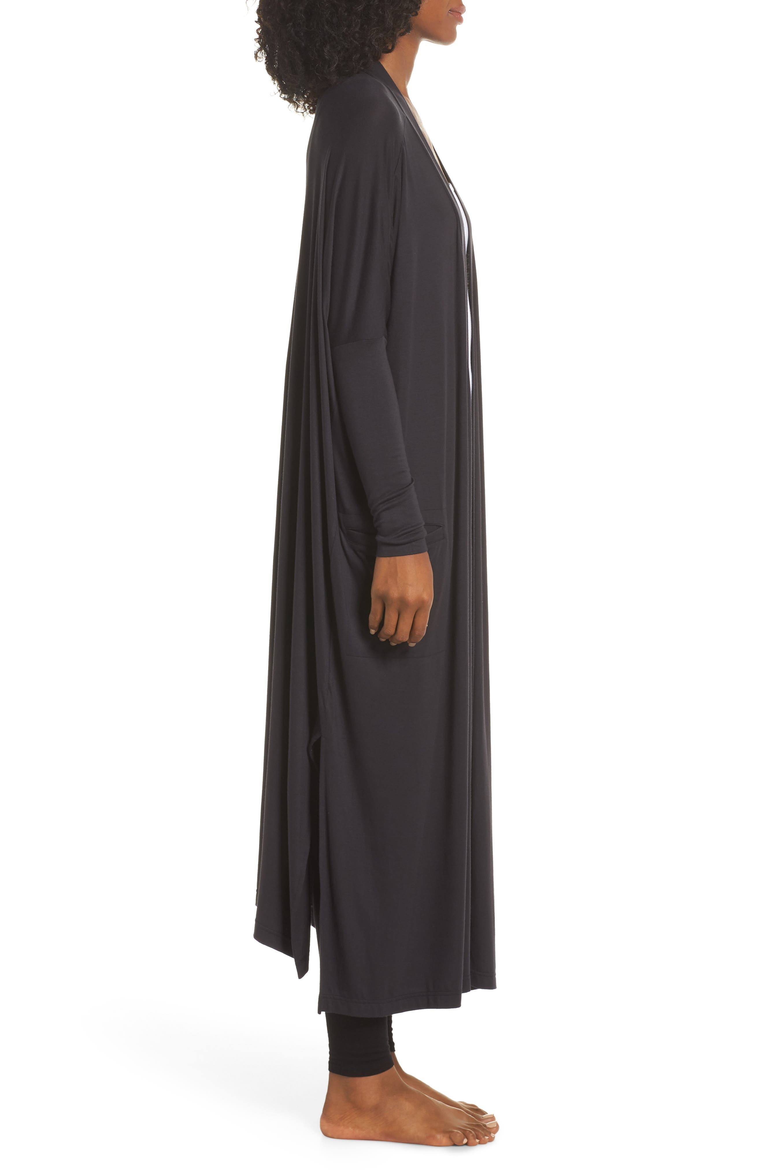 Eleanor Duster,                             Alternate thumbnail 3, color,                             BLACK