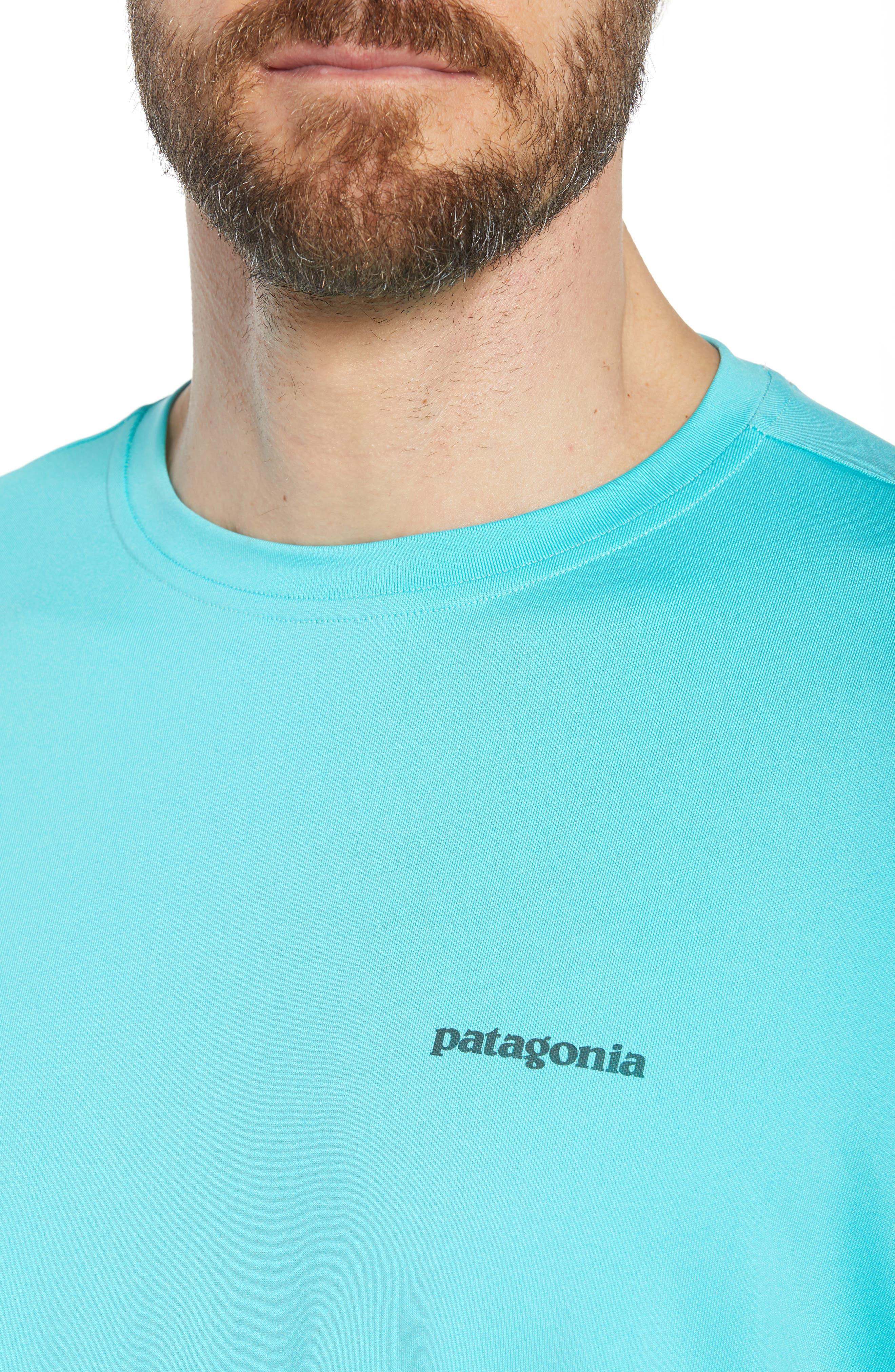 Tech Fish Graphic Long Sleeve T-Shirt,                             Alternate thumbnail 15, color,