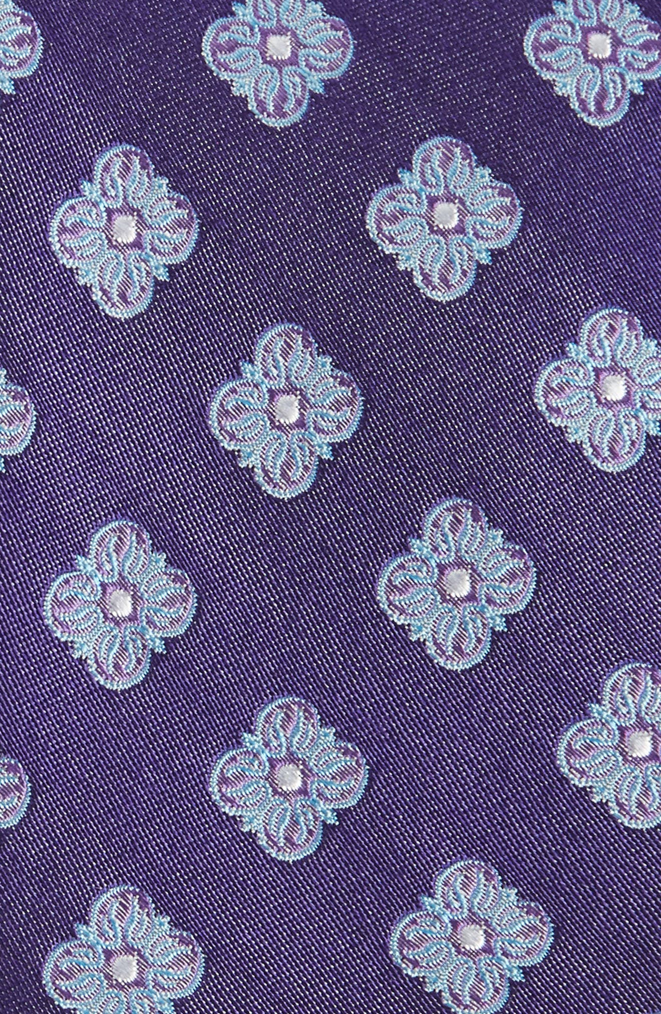 Cameron Floral Medallion Silk Tie,                             Alternate thumbnail 15, color,
