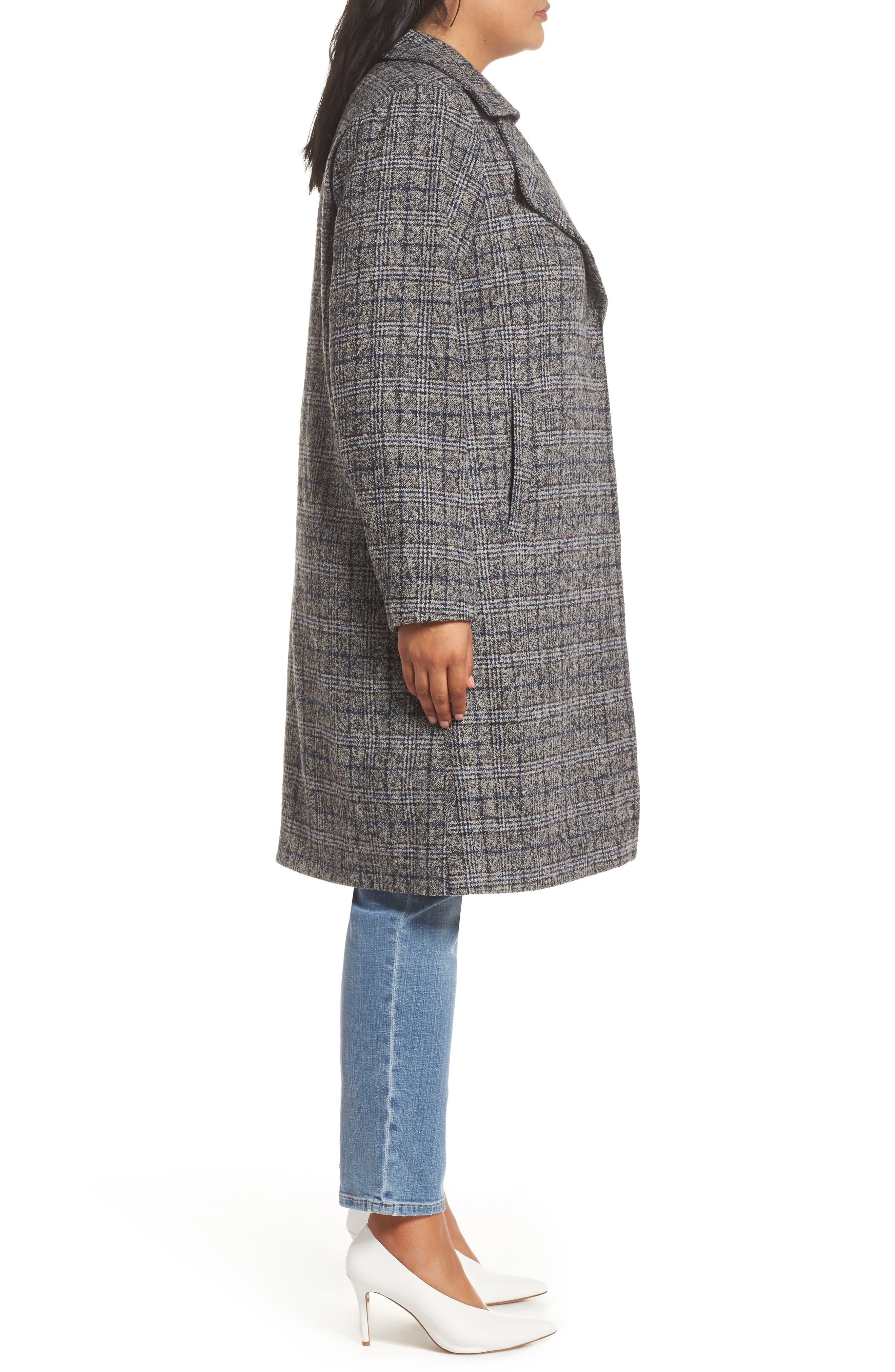 Double Fold Collar Coat,                             Alternate thumbnail 3, color,                             450
