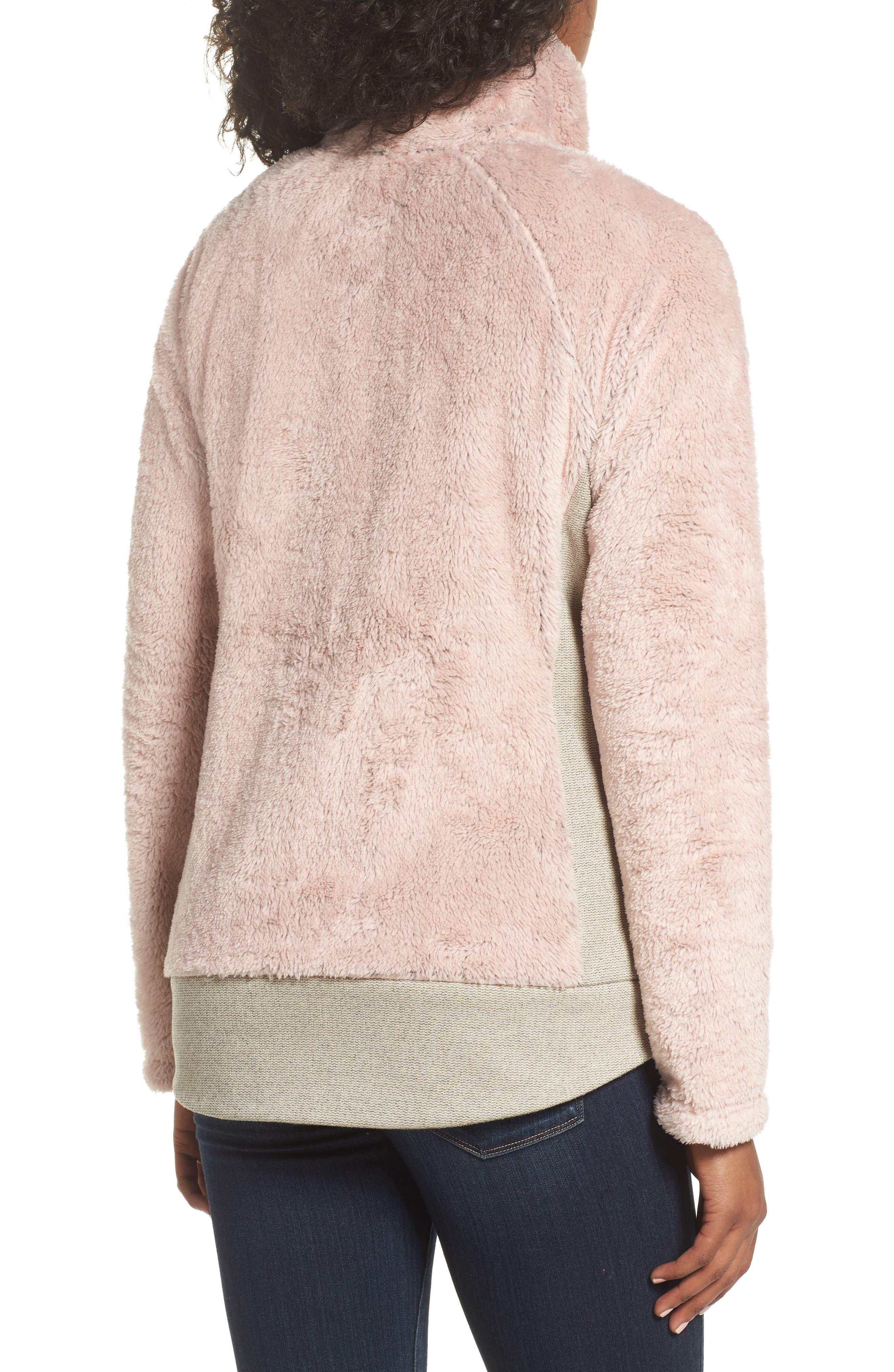 Furry Fleece Jacket,                             Alternate thumbnail 14, color,