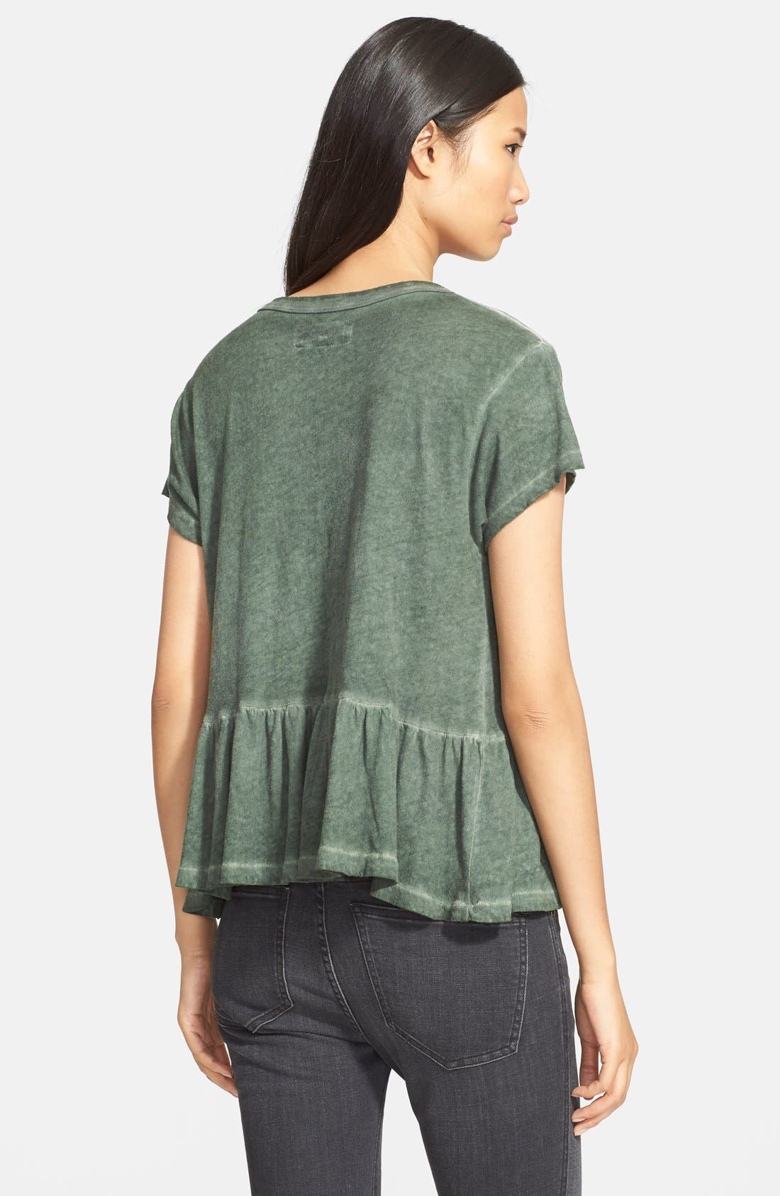 The Ruffle Tee,                             Alternate thumbnail 35, color,