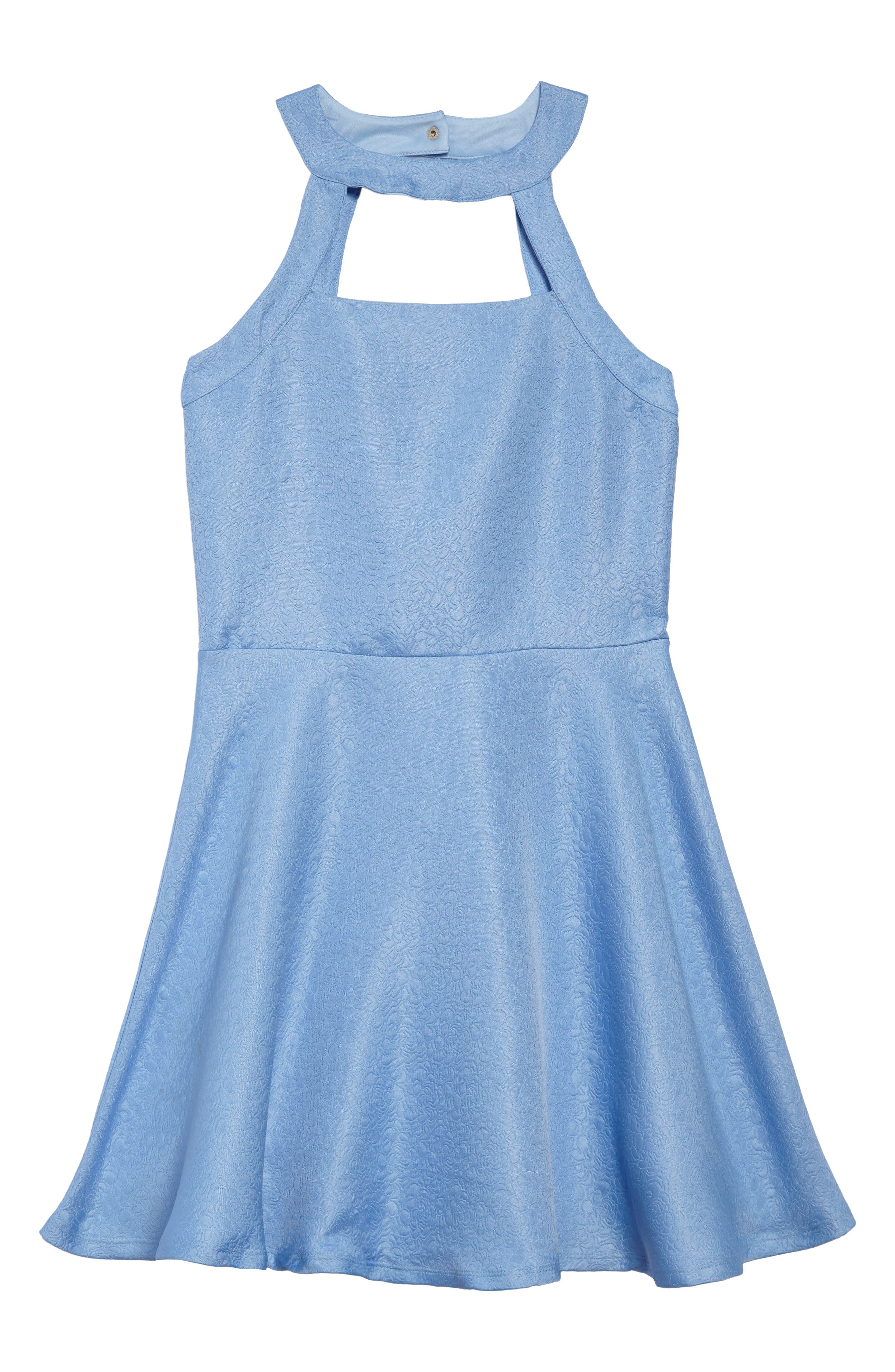 Harper Fit & Flare Dress,                             Main thumbnail 1, color,