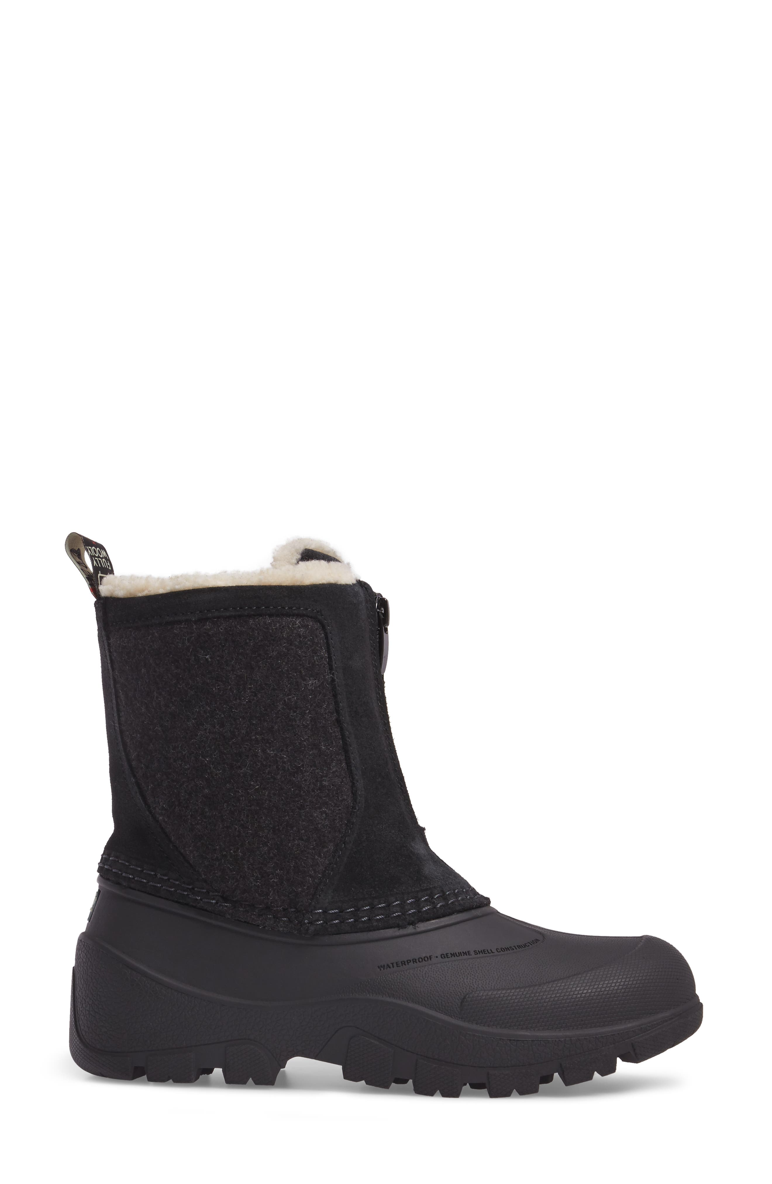 Fully Wooly Icecat Waterproof Insulated Winter Boot,                             Alternate thumbnail 3, color,                             001